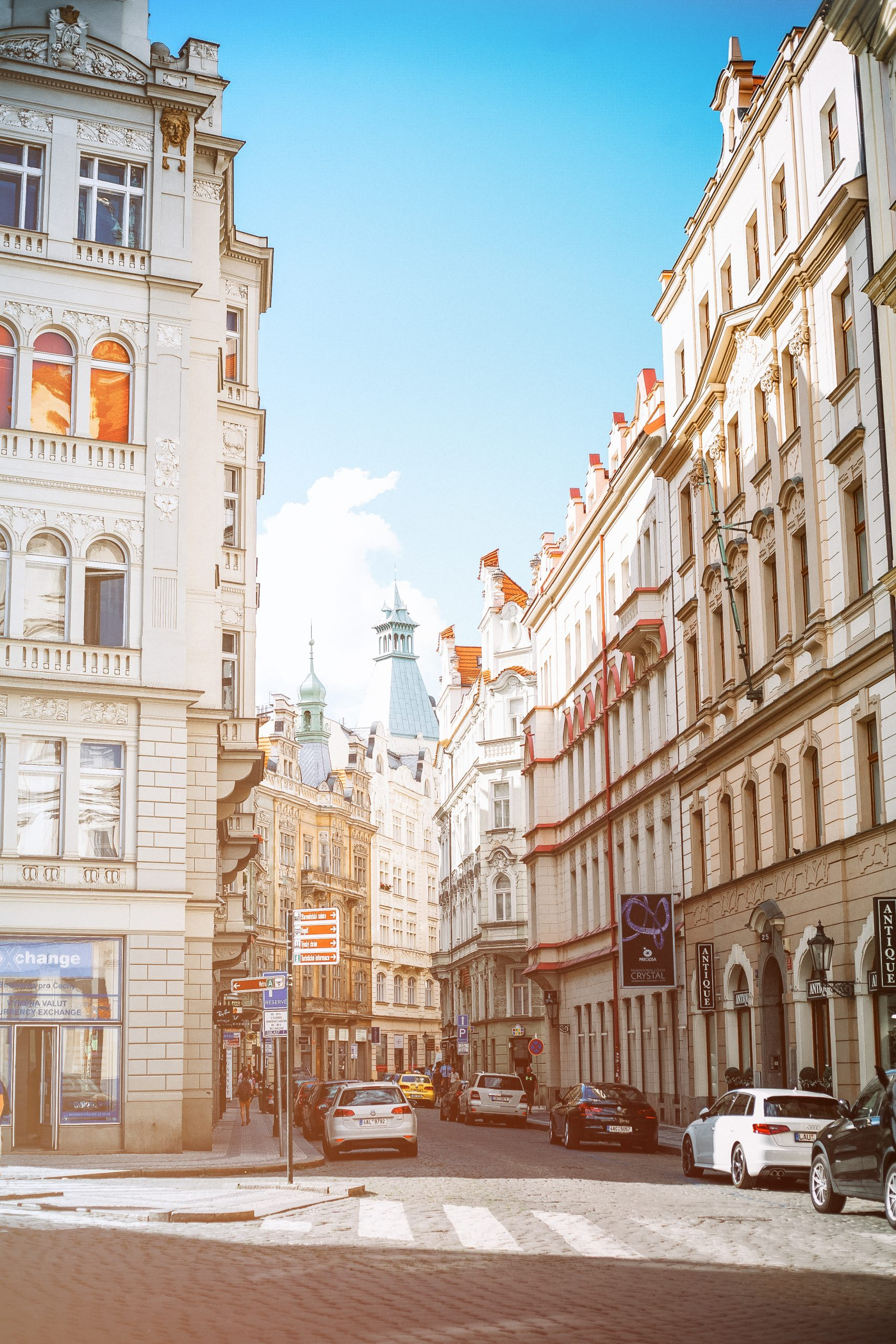 Prague Buildings and Streets