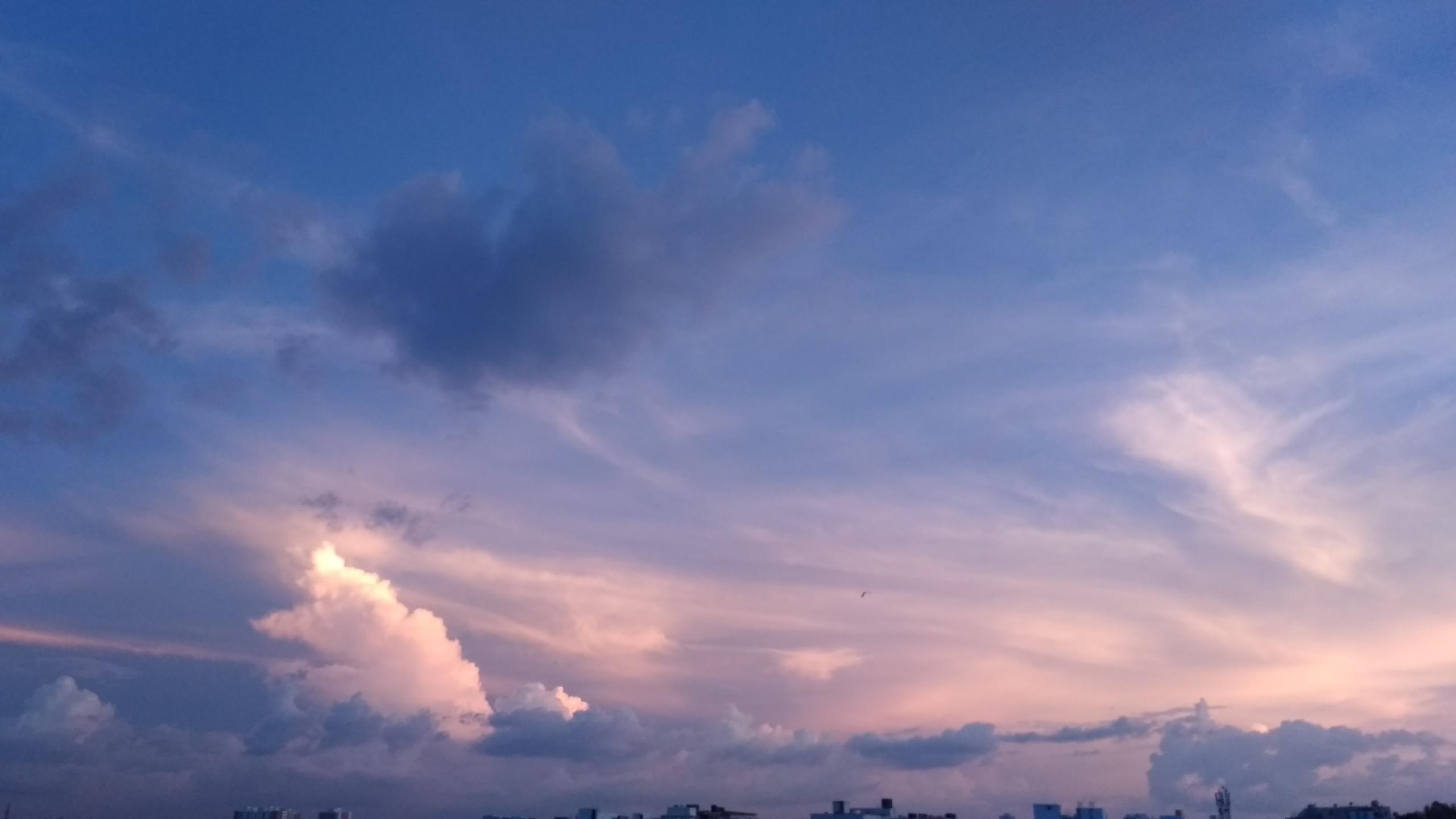 Purple Cloudy Sky