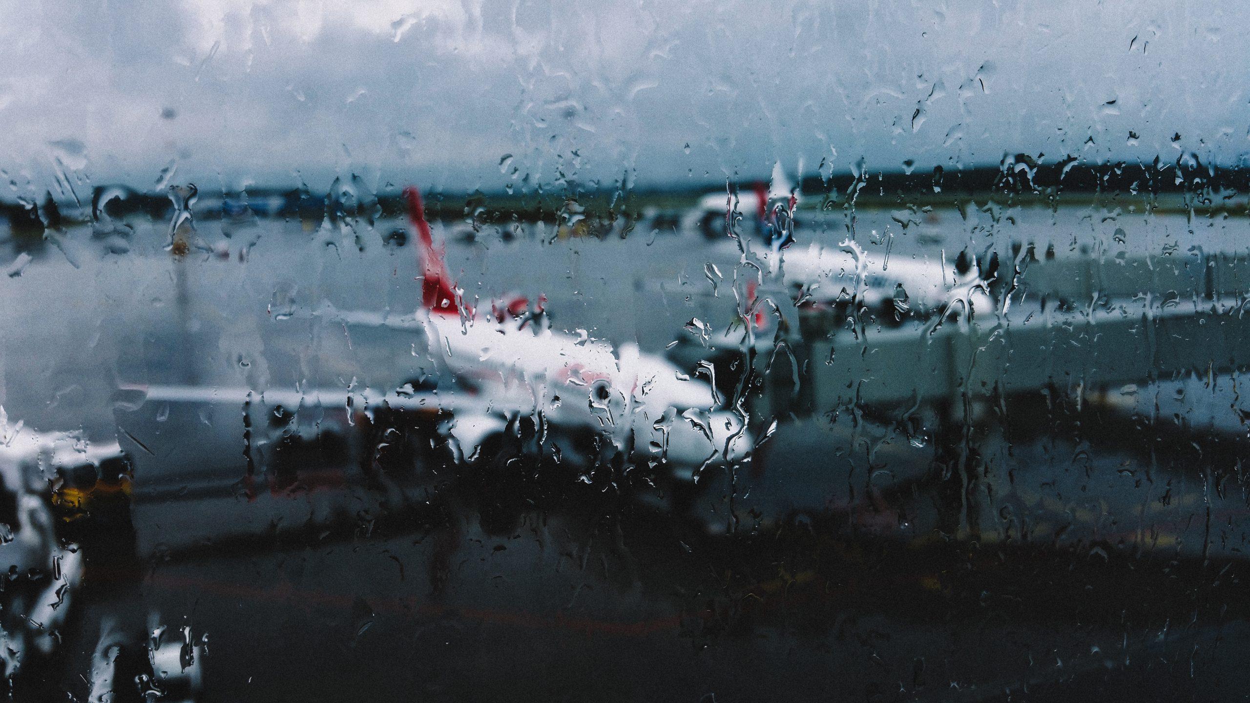 Rainy Airport Day