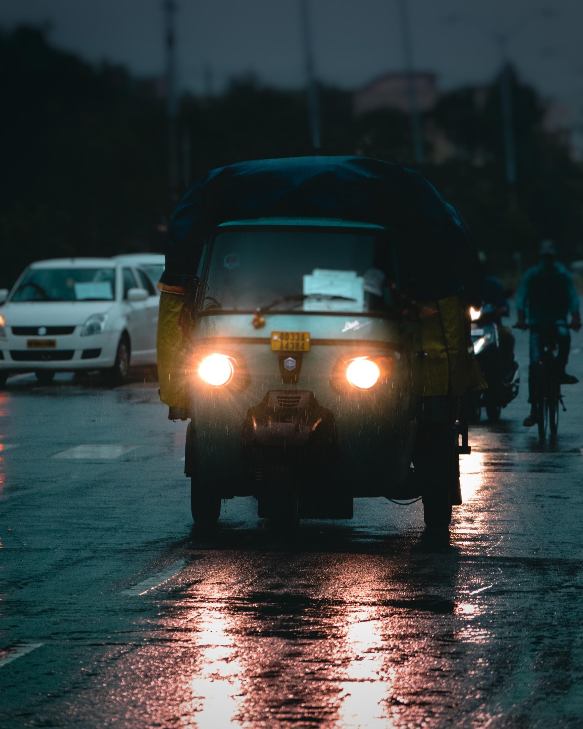 Rainy Day in BHubaneshwar
