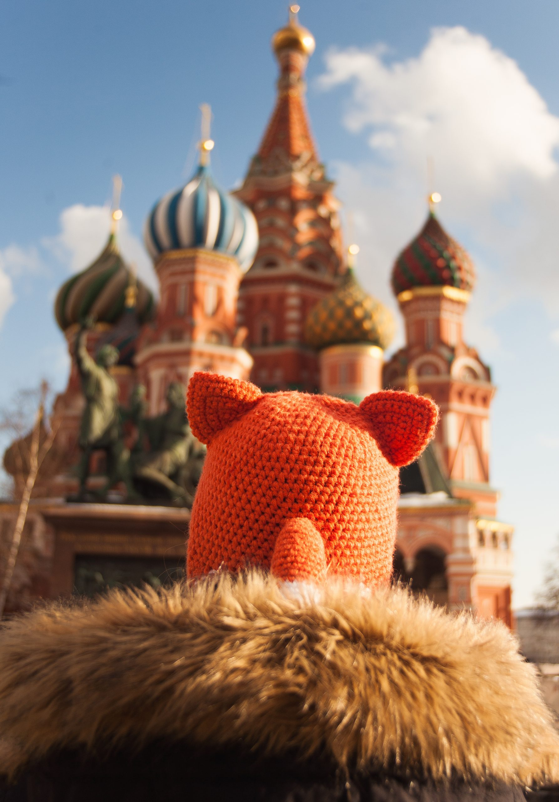 Red Square Fox