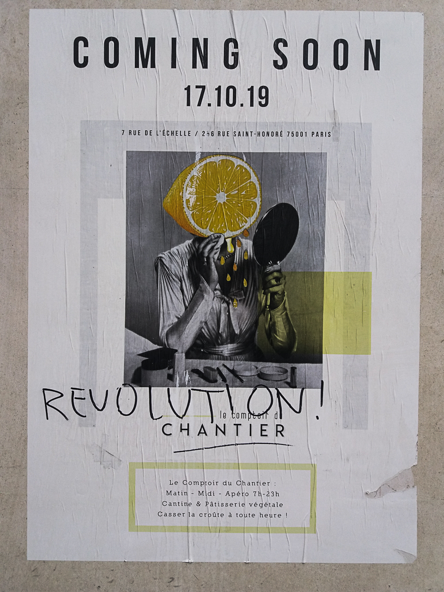A Poster on the Wall