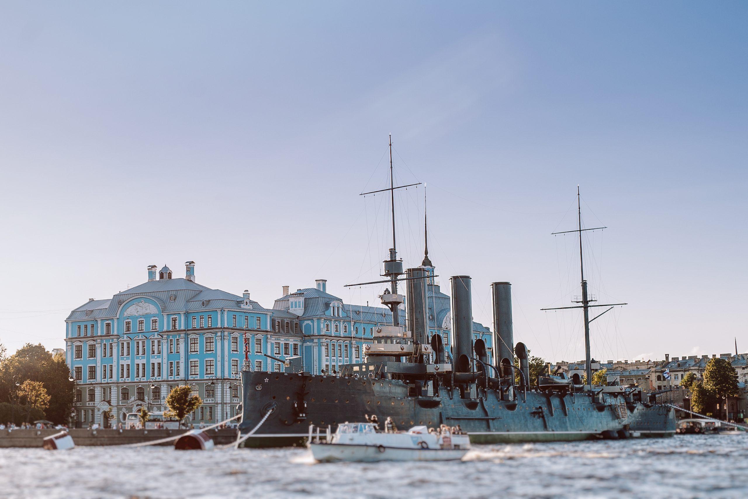 Saint Peterburg River Cruise and Ship