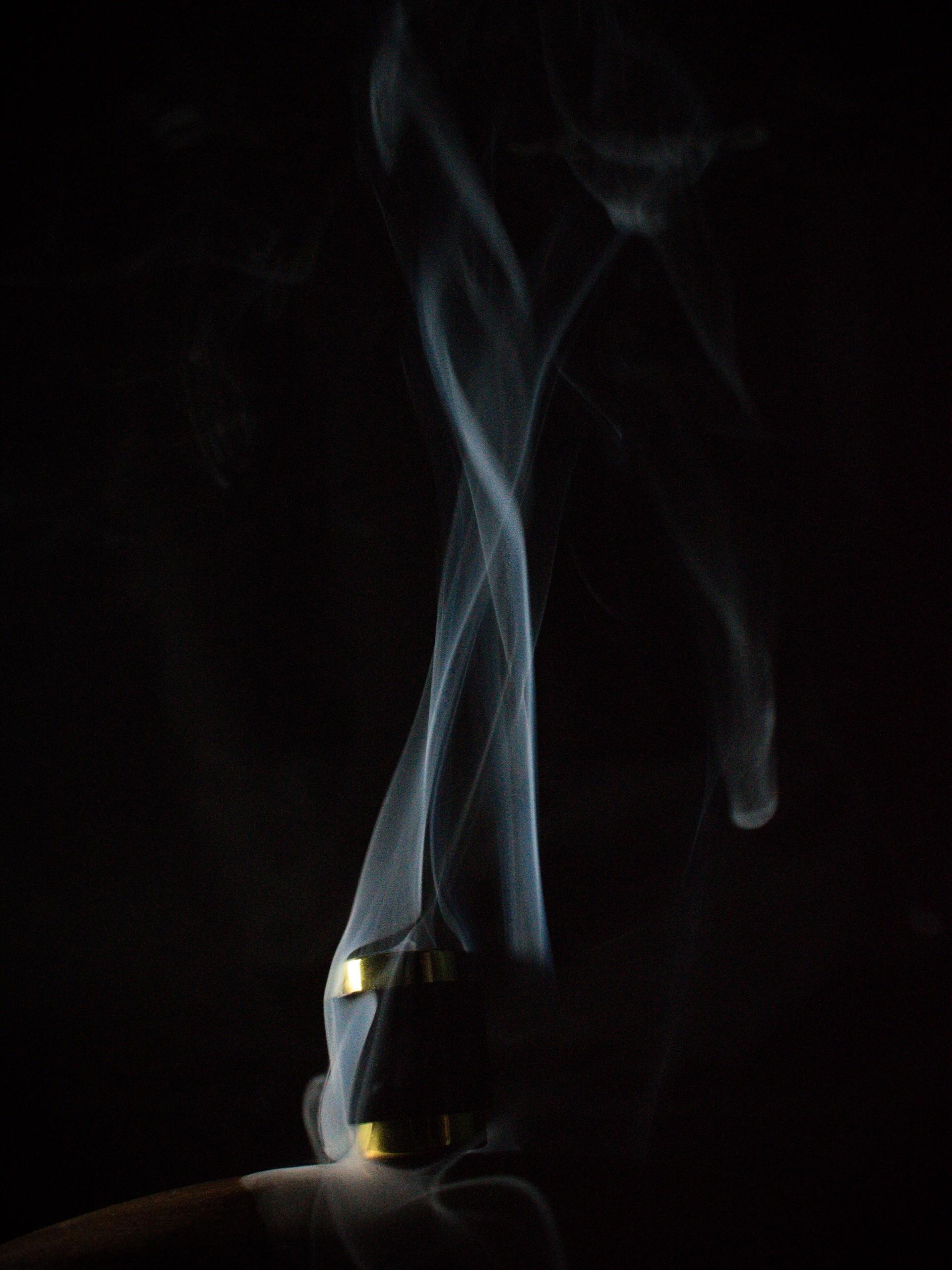 Smoke in darkness