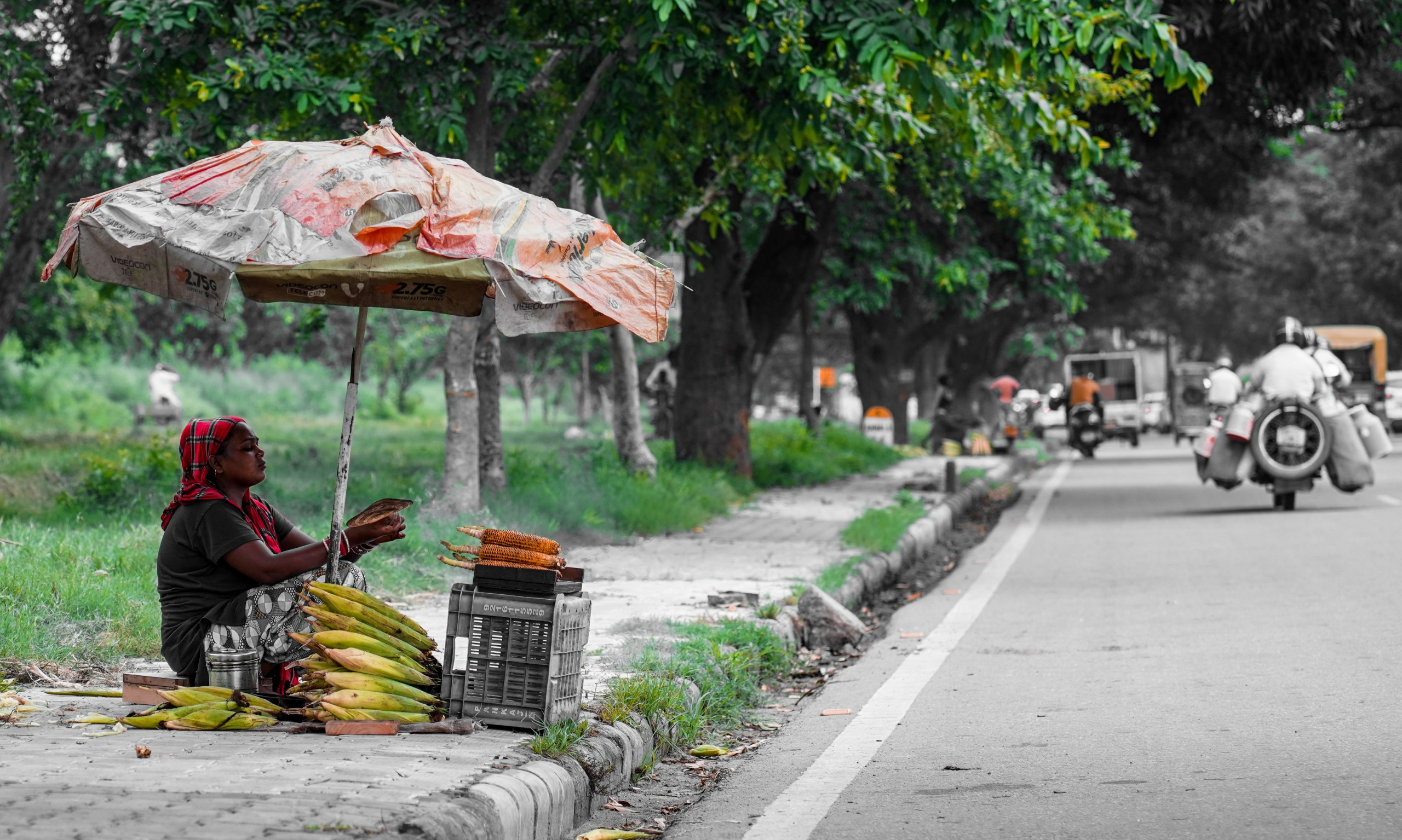 Street Corn Vendor