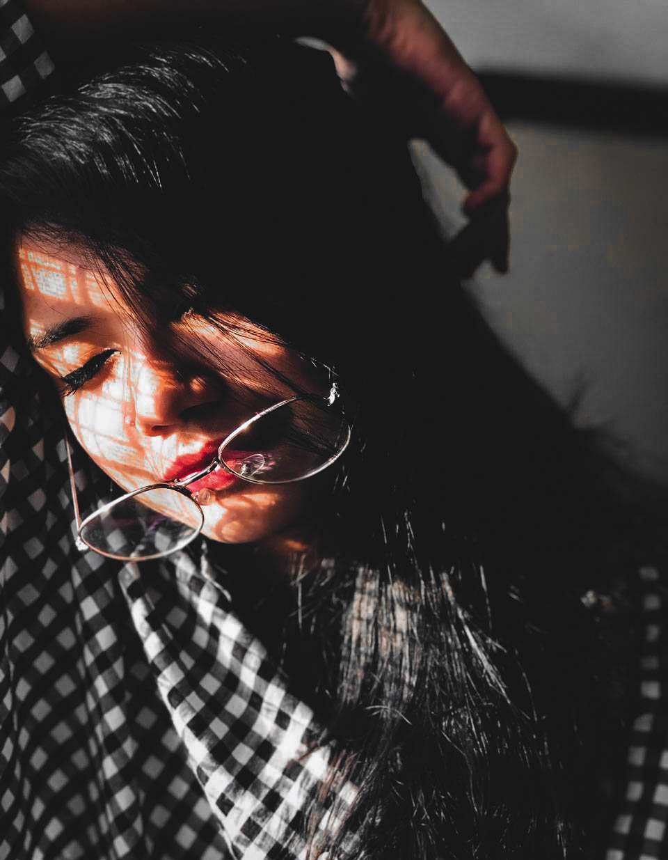 Sun kissed – Indian Girl with Glasses