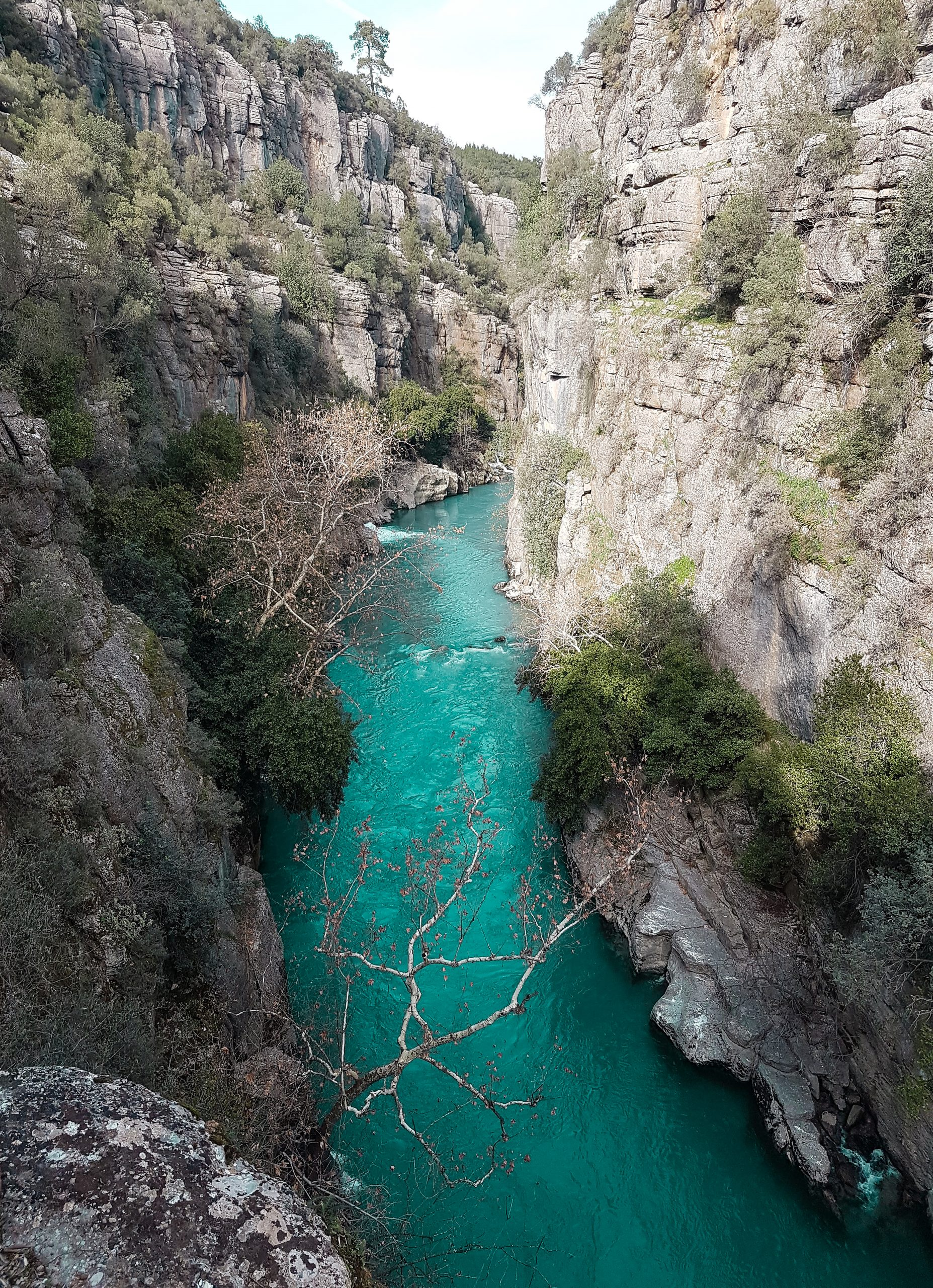 Tazı canyon in Antalya
