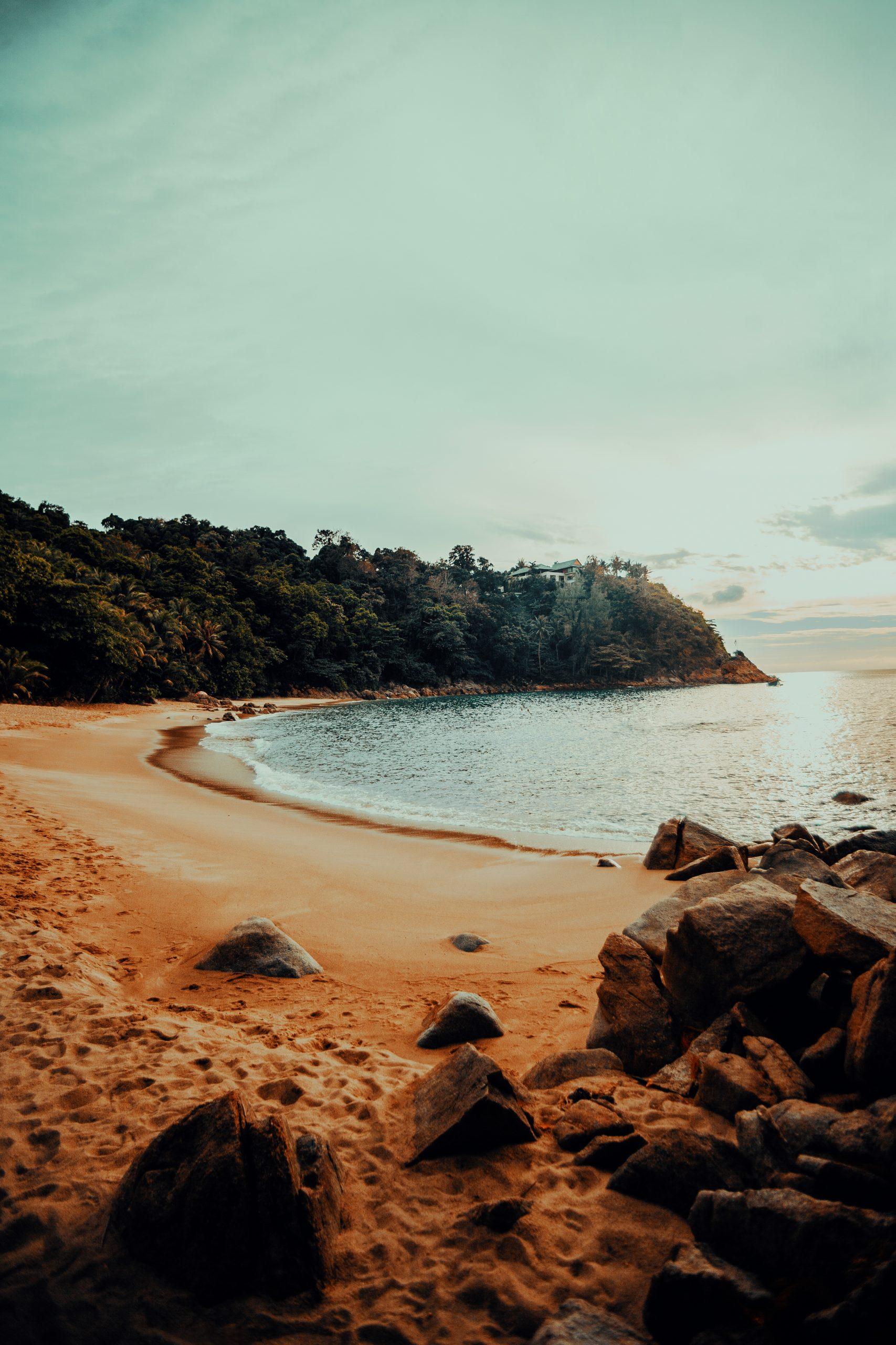 Beach at Island
