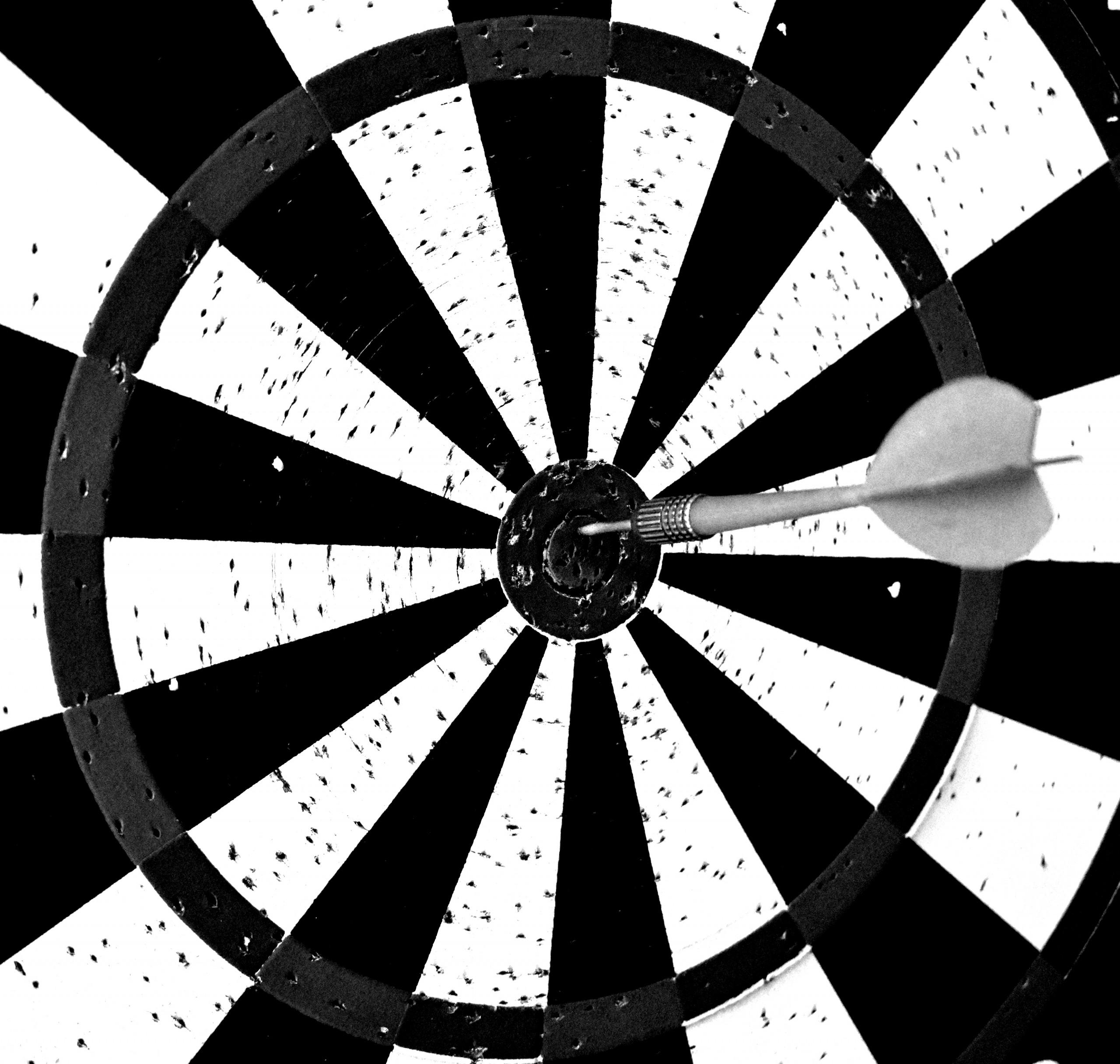 The Bullseye on Dart Board
