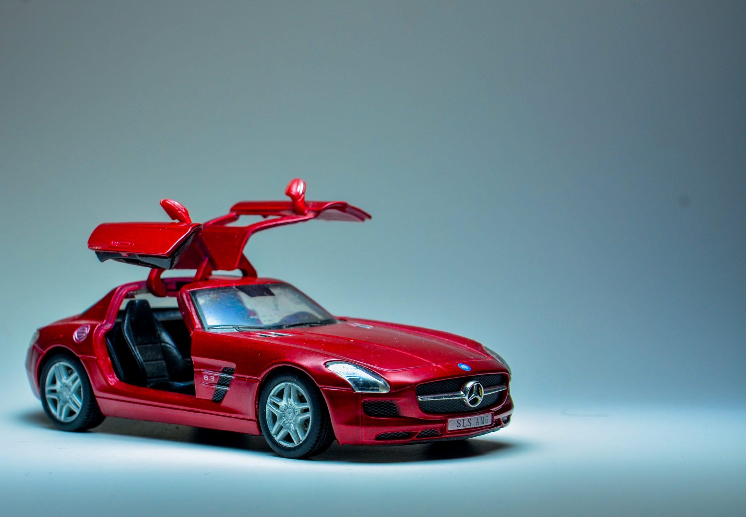 Toy Mercedes Car