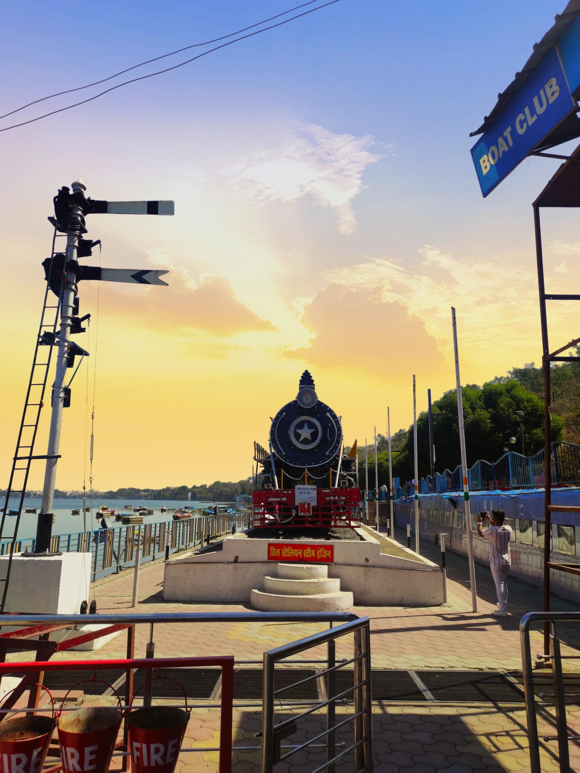 Train Ride and Resort