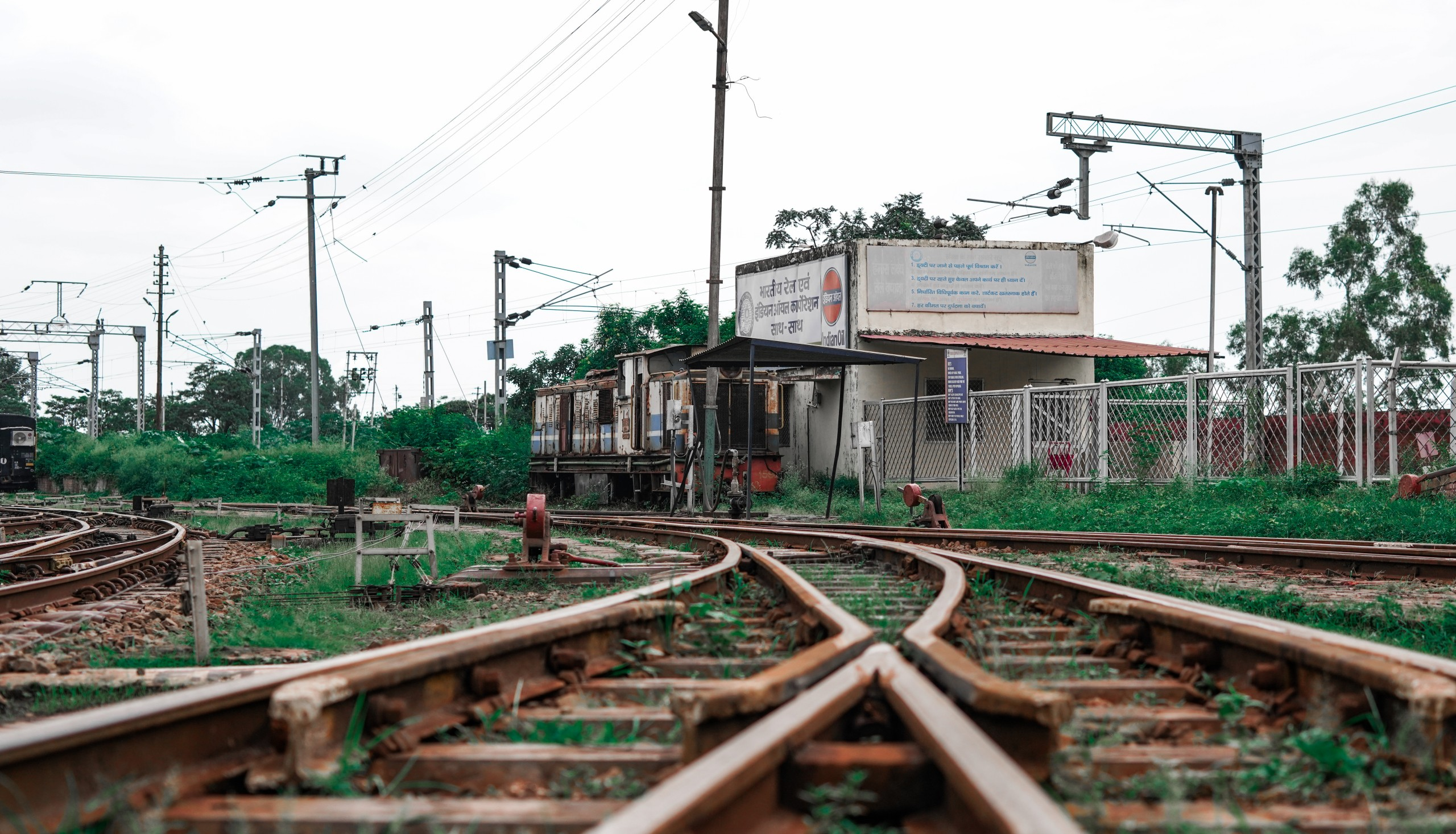 Train lines in India