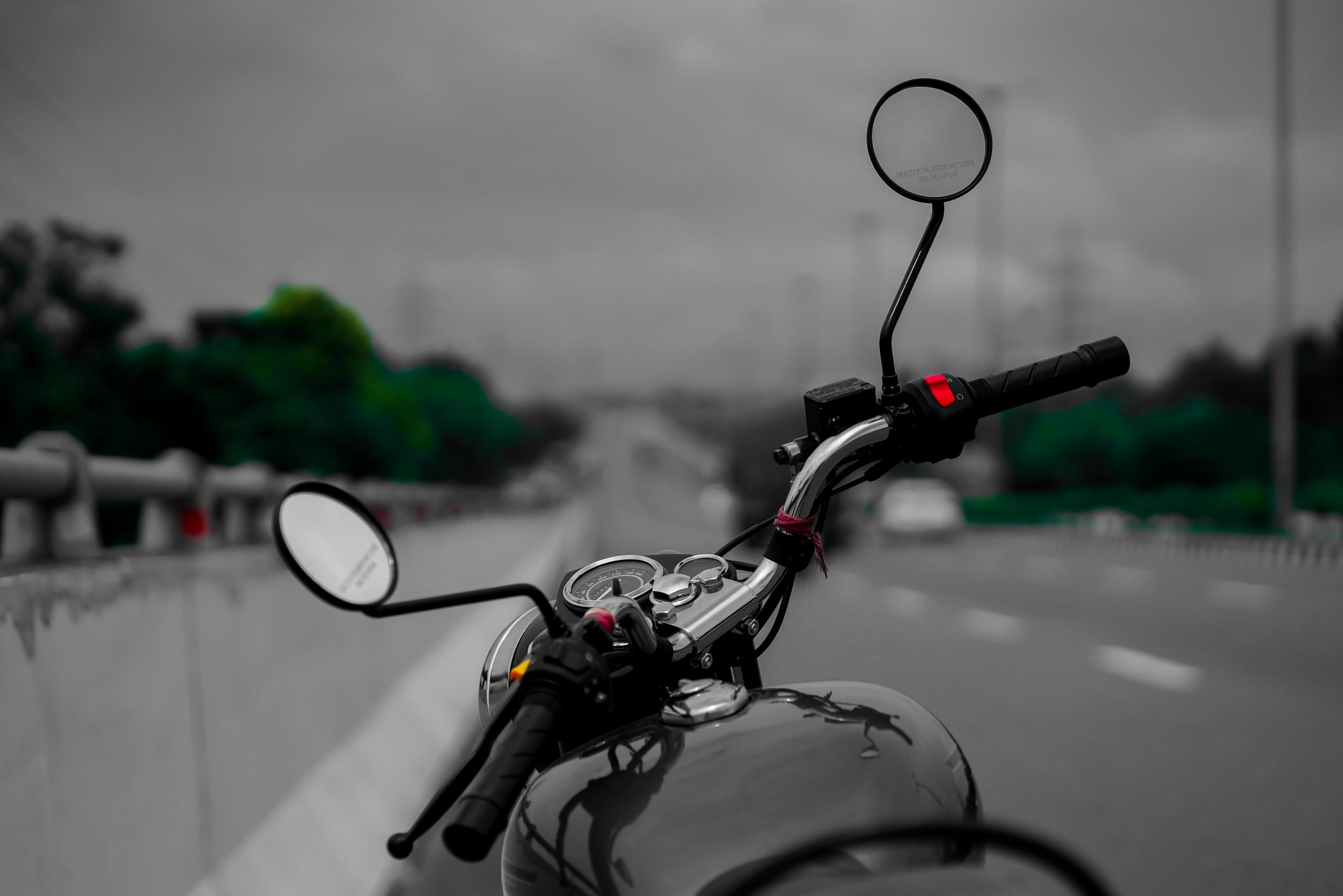 A bike on a road