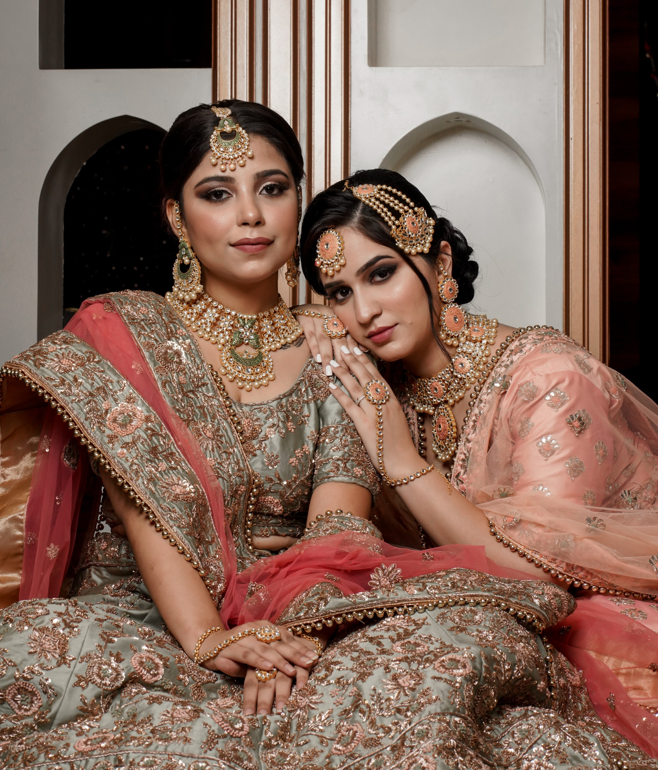 Indian Brides on Traditional Dresses