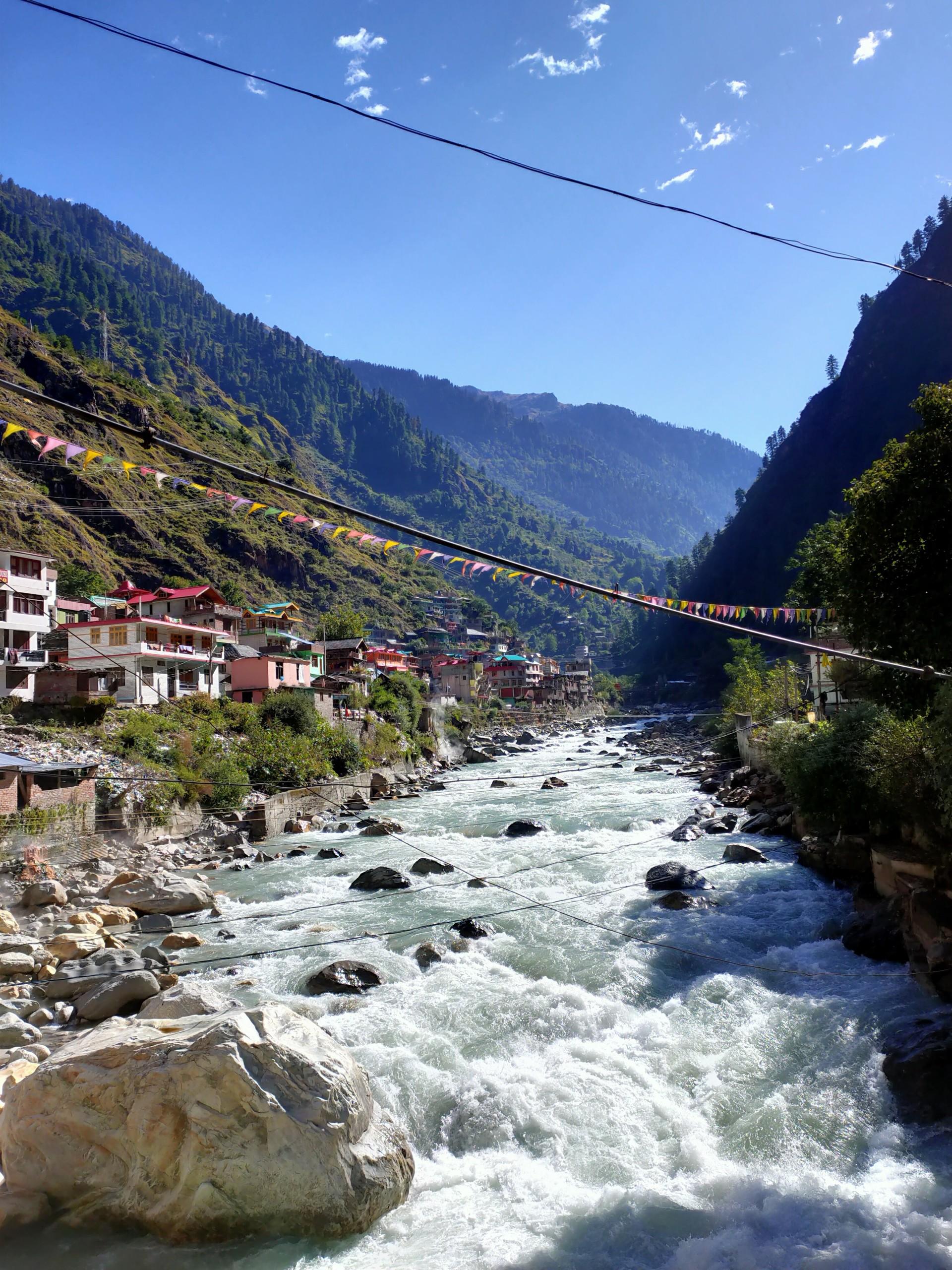 Himachal River View