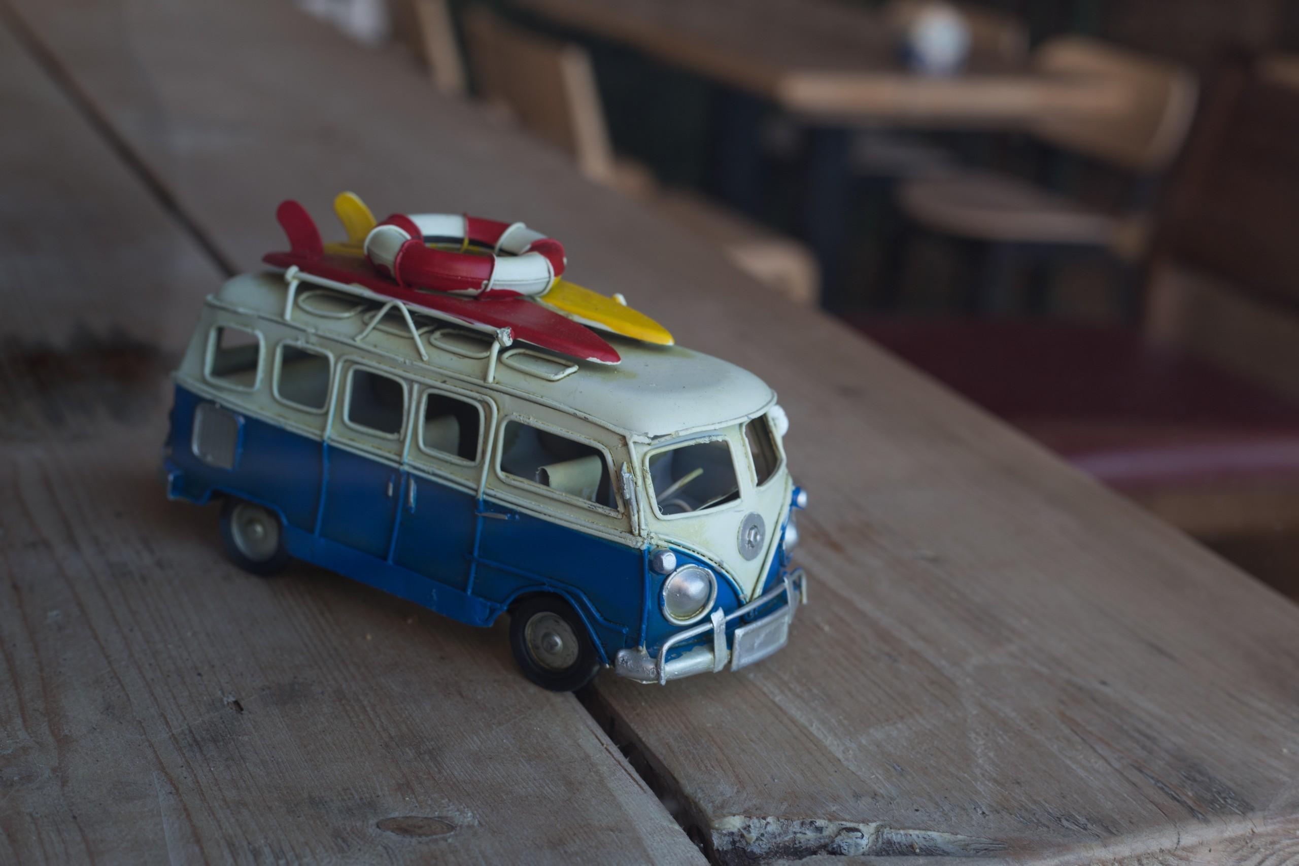 Volkswagen toy van