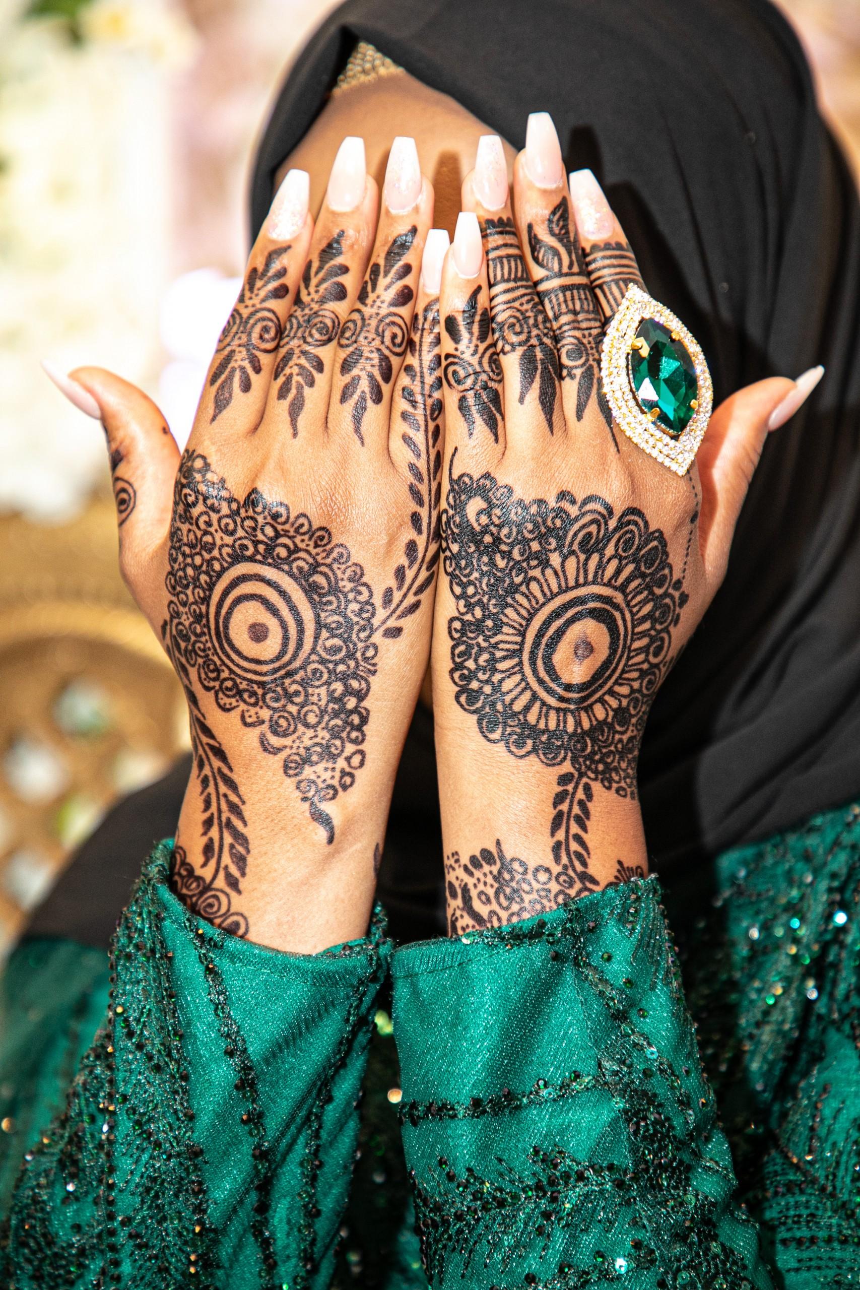 Woman Muslim Tattoo
