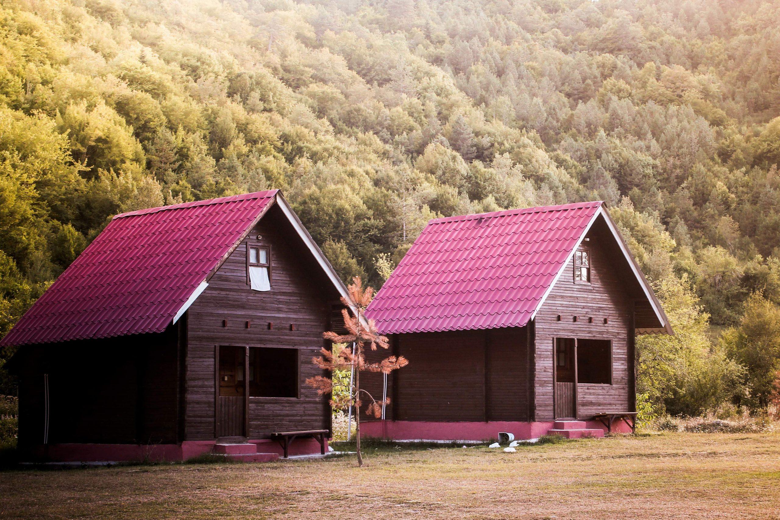 Wooden houses in Kastamonu