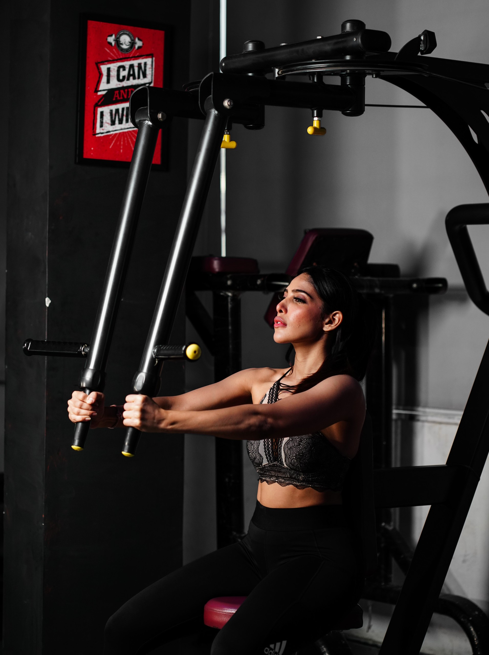 A Fit Woman in the Gym