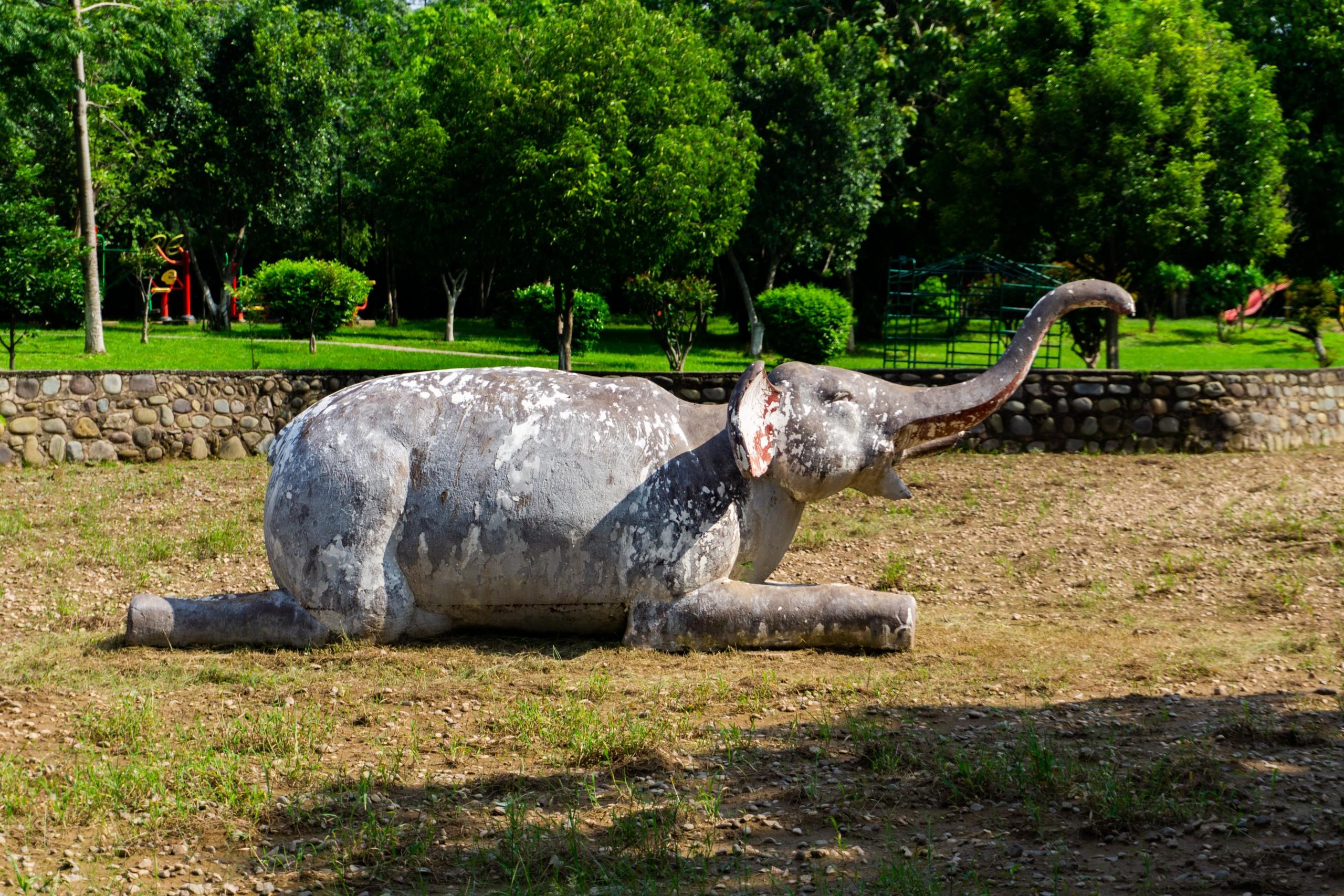 Elephant Sculpture craft