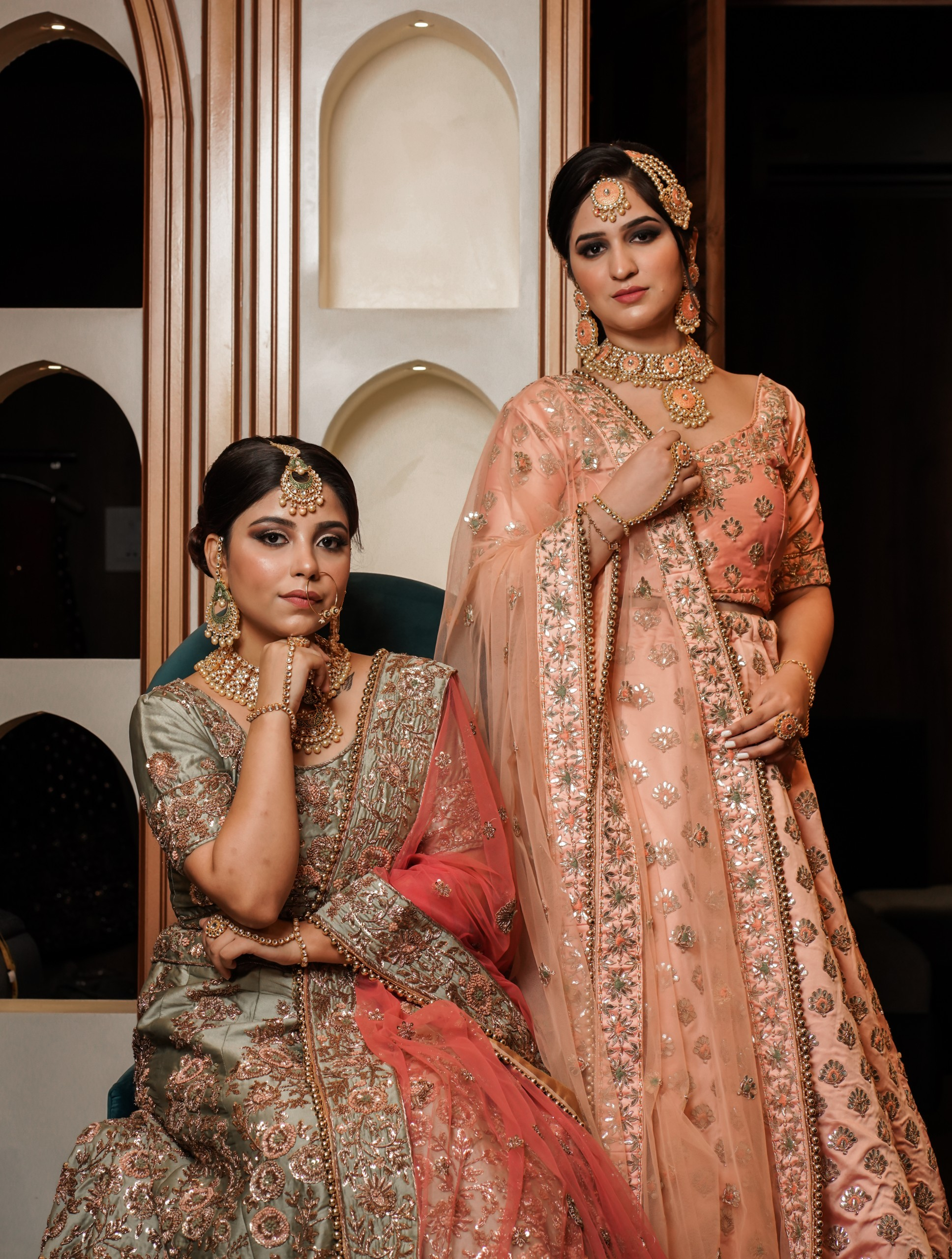 Indian Brides on Sari