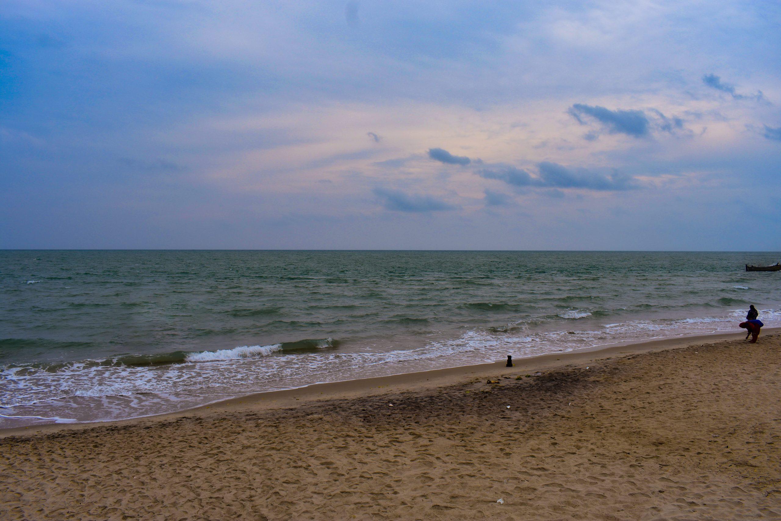 The edge of India - Dhanushkodi Beach