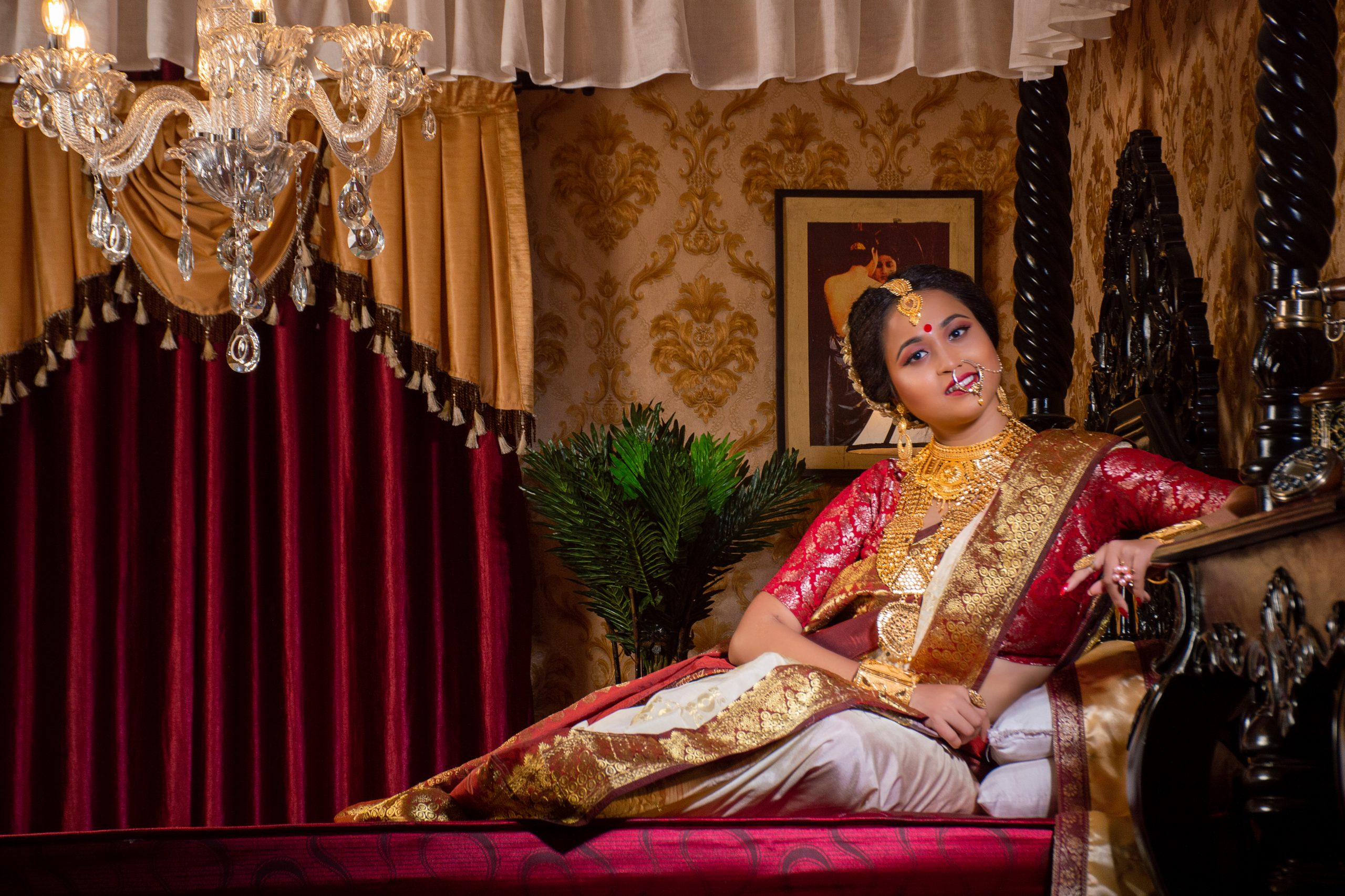 A Bengali woman after makeover