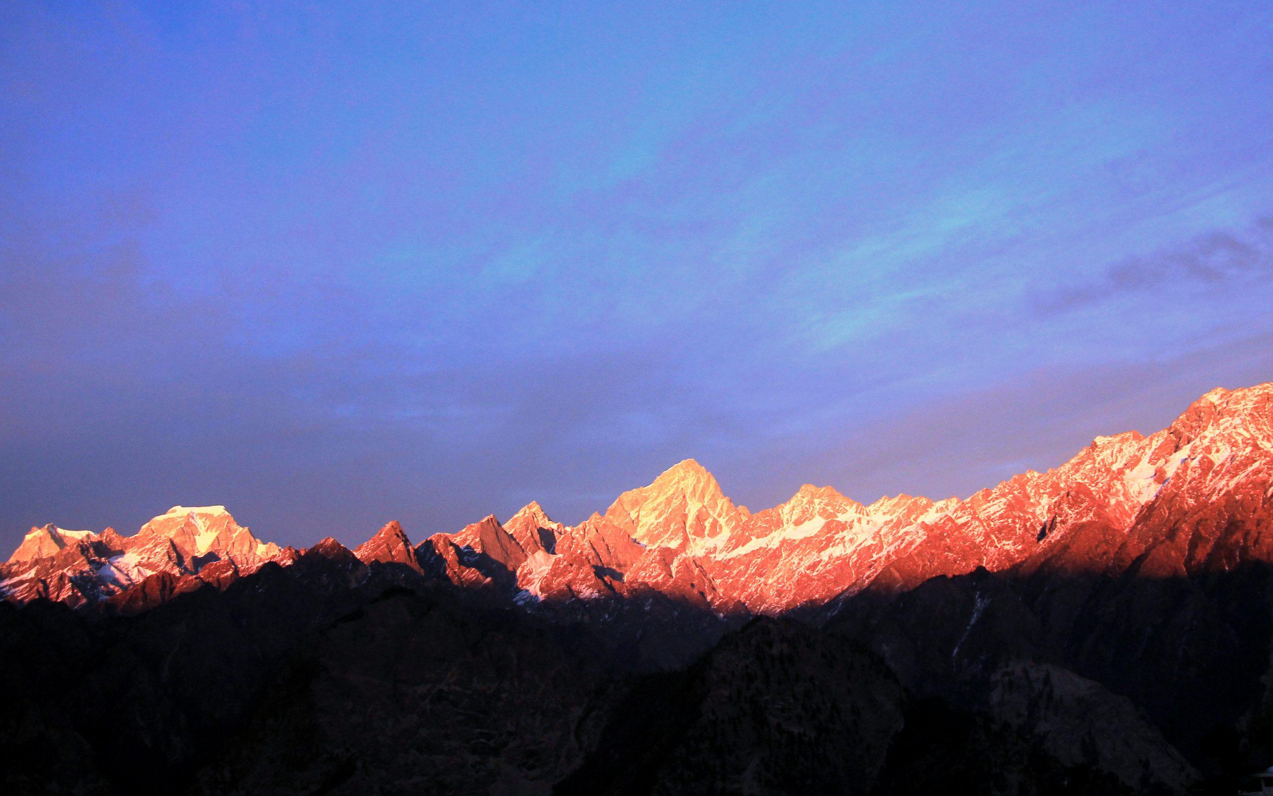 A Golden Peaks Photo of Dzongri