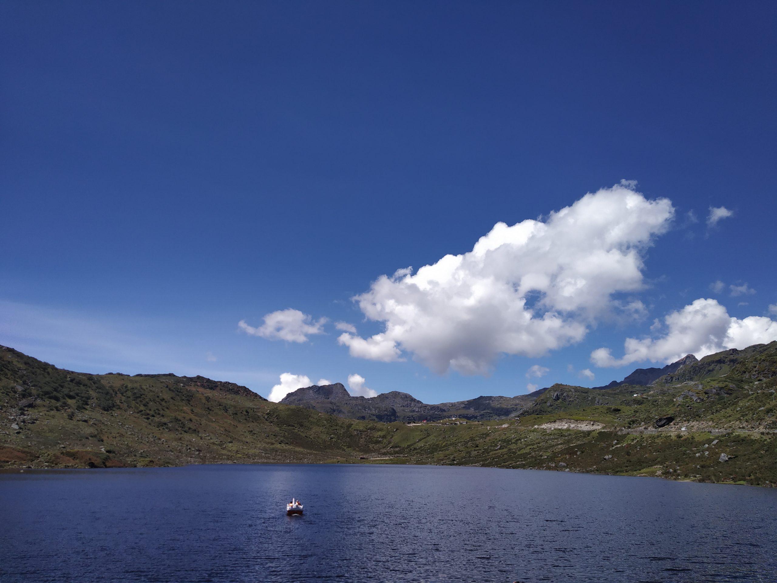 A Lake Scenery on Daytime