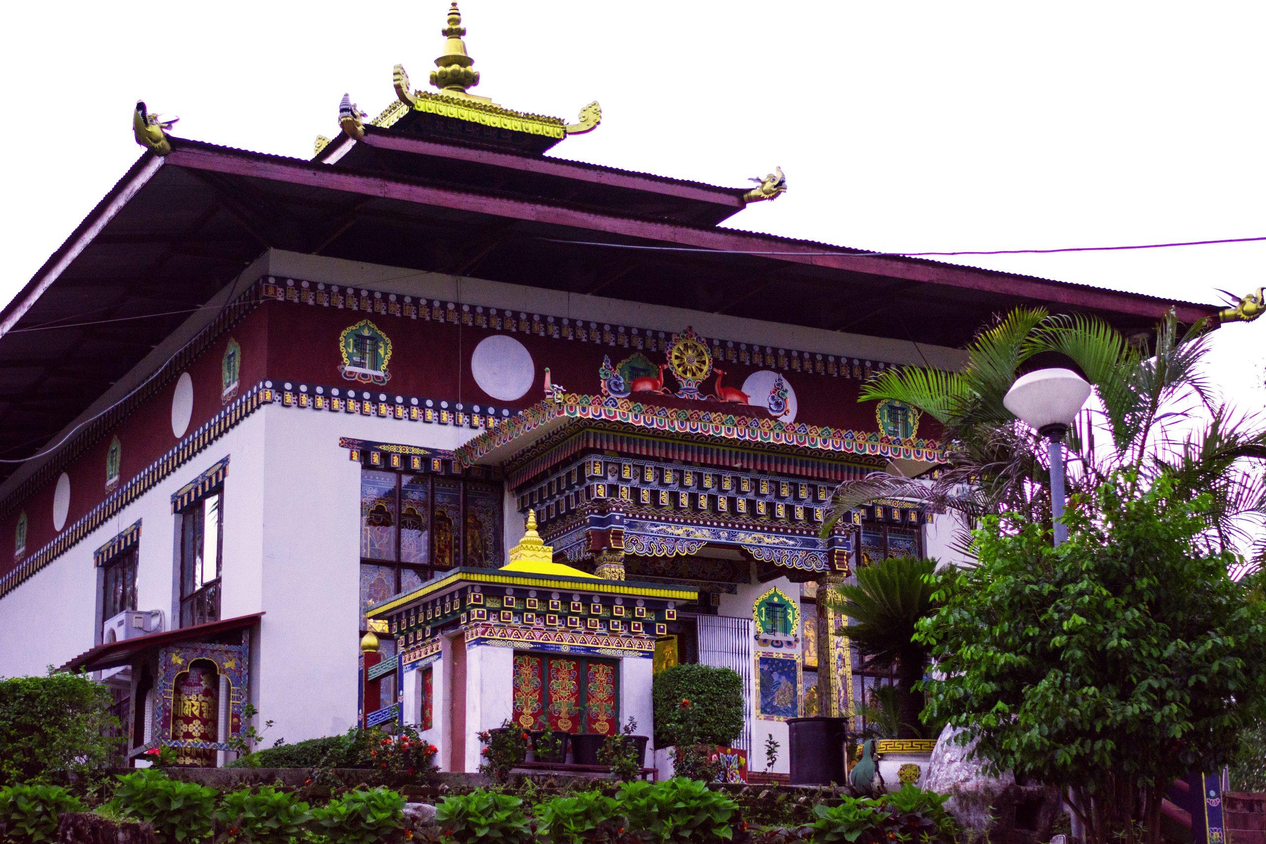 A Monastery at Bhutan