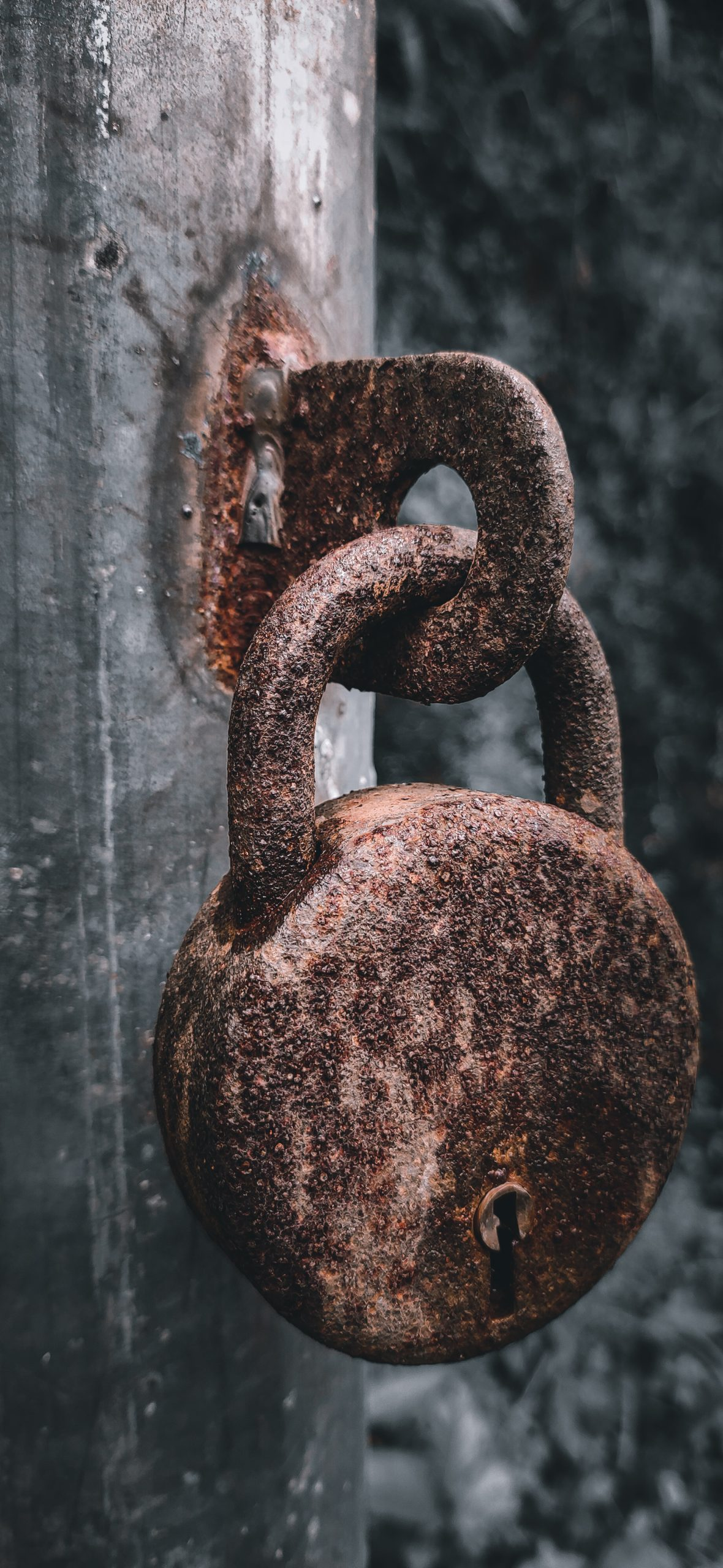 A Rusty Lock