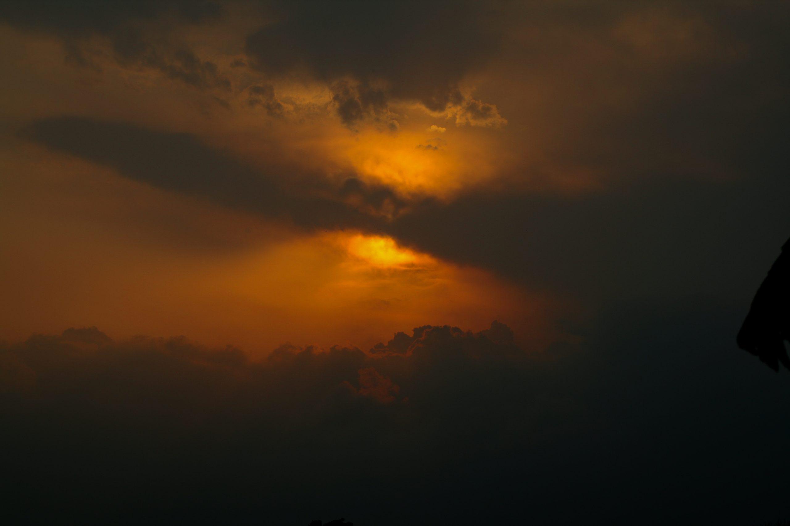A beautiful cloudy sky