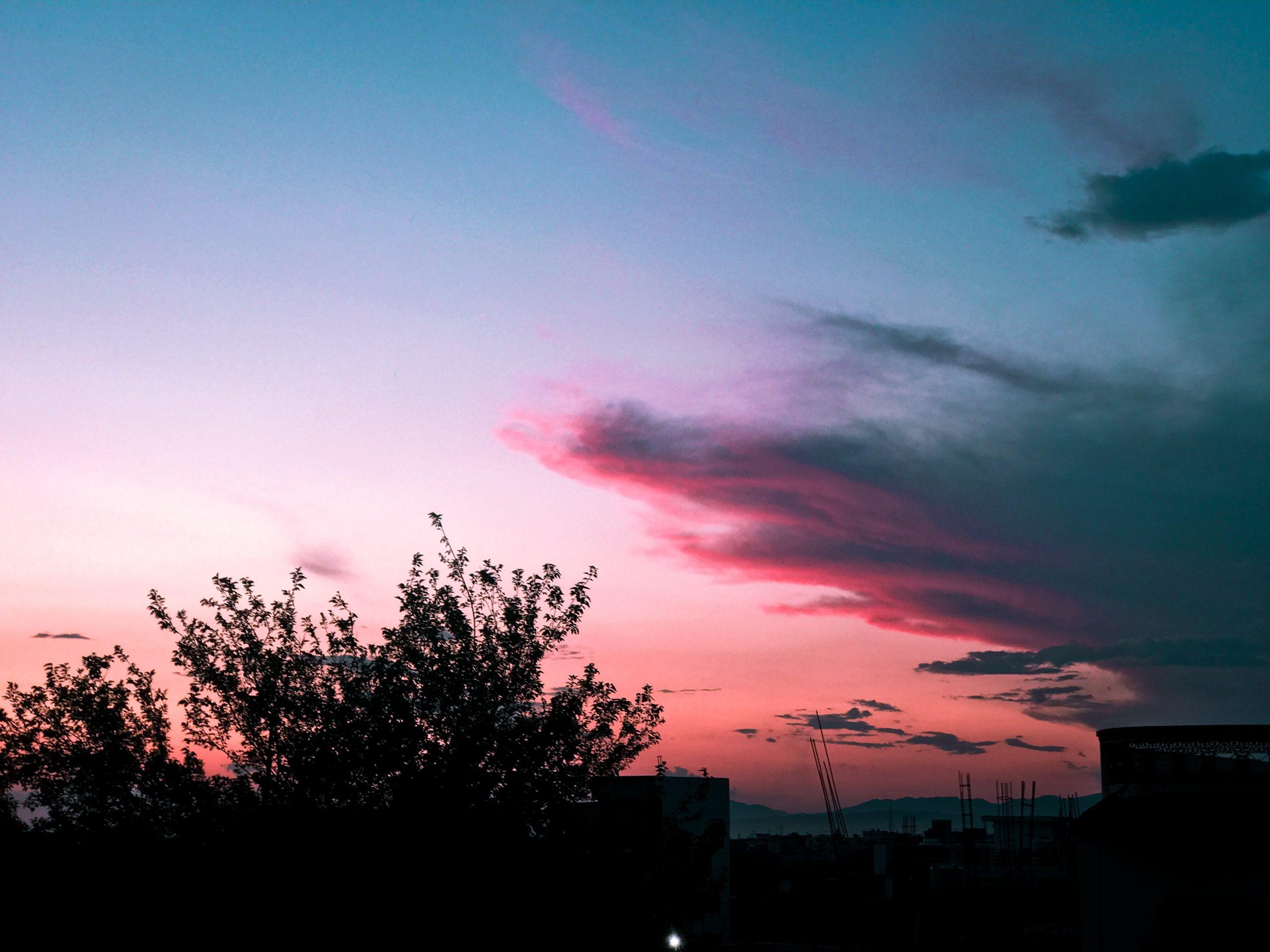A beautiful sunset image
