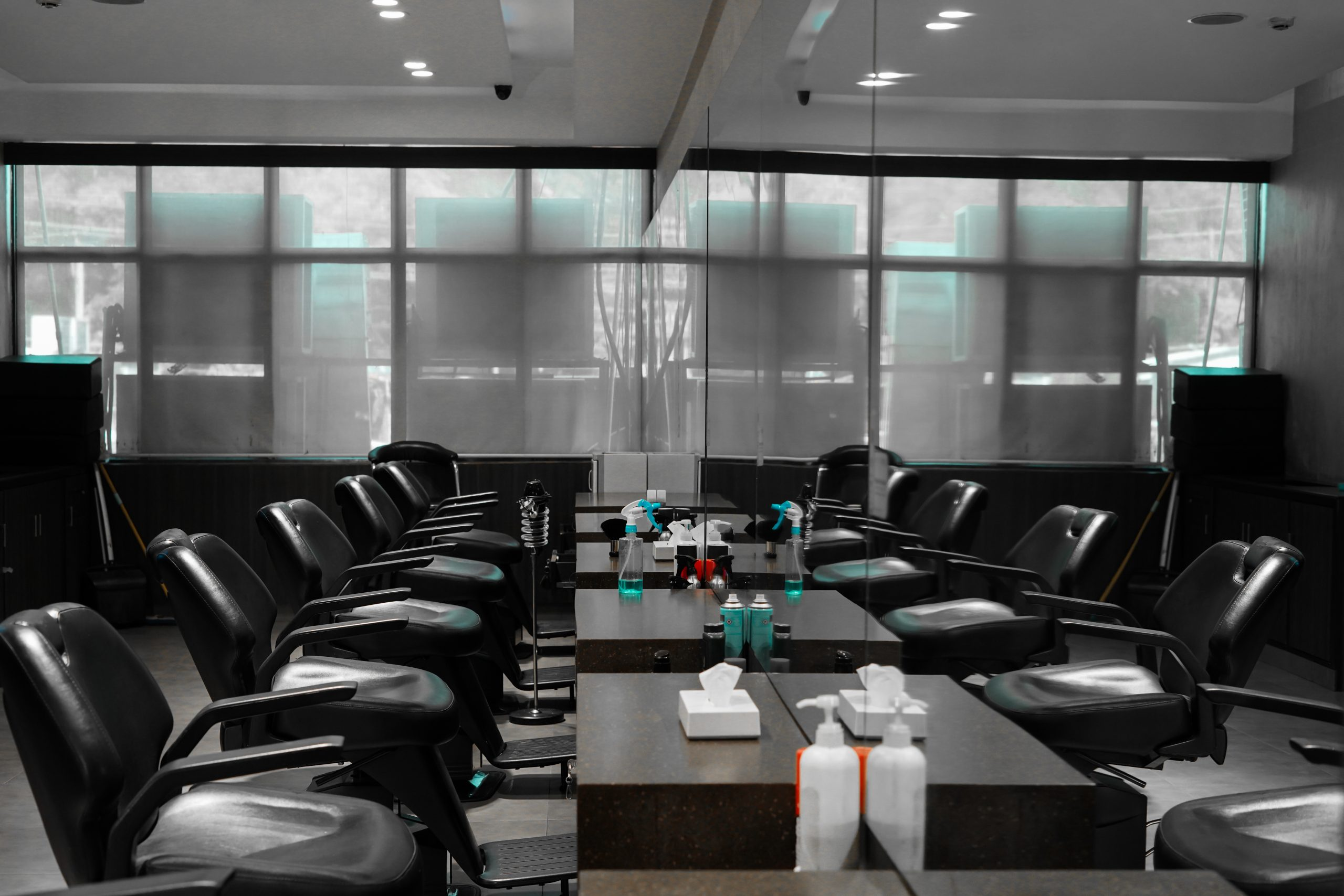 A well decorated salon