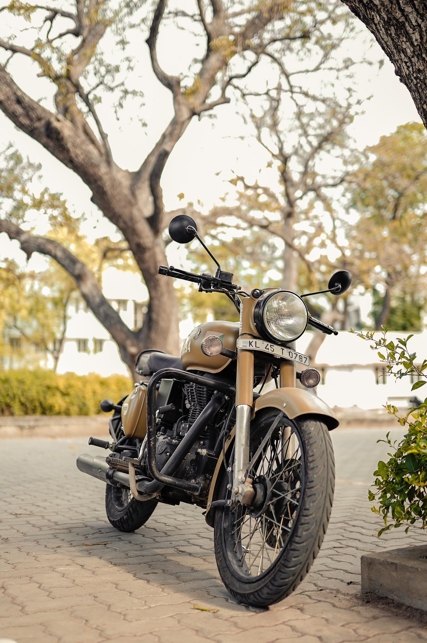 A motor bike