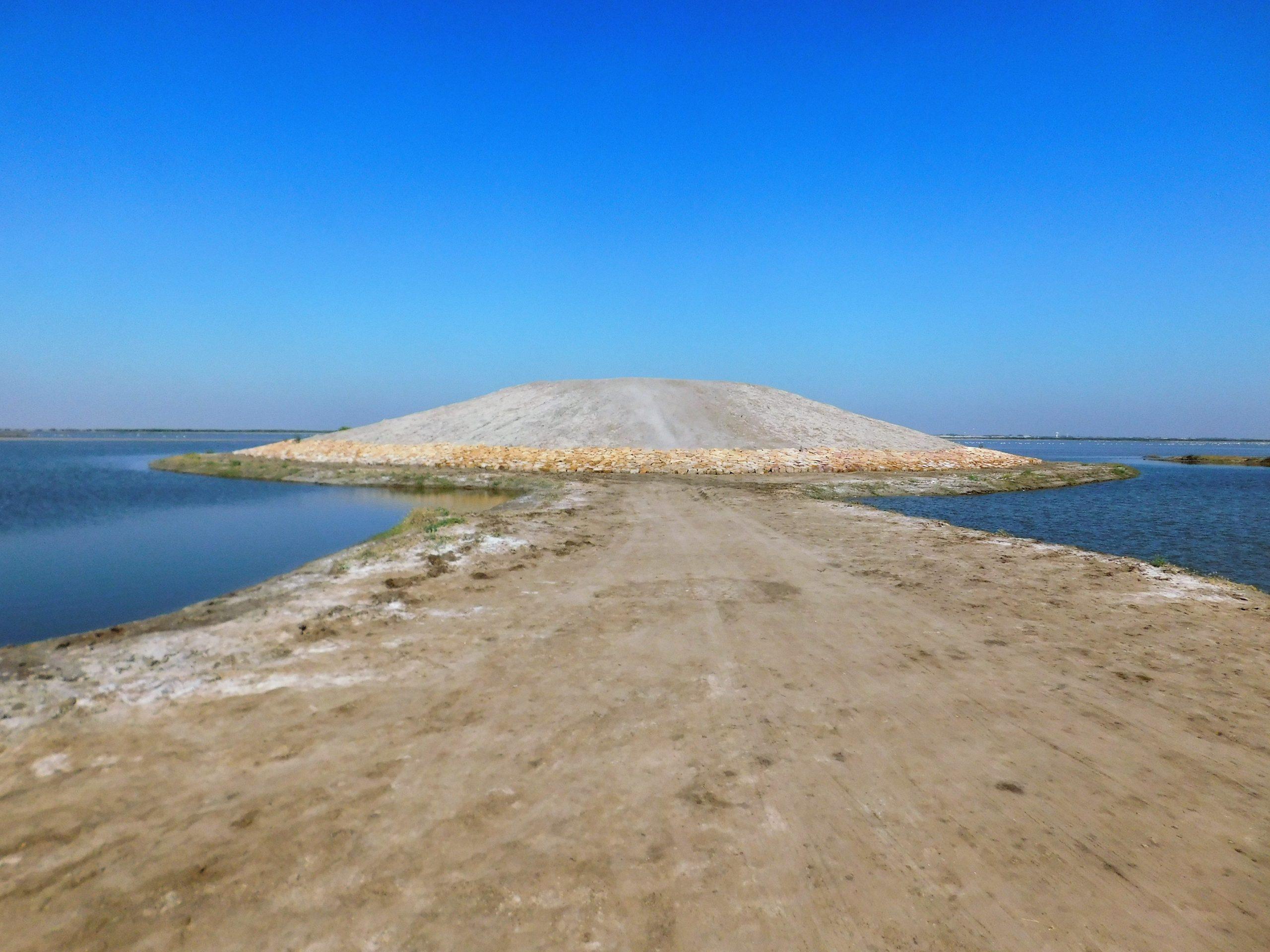 A salt Pan in Kutch