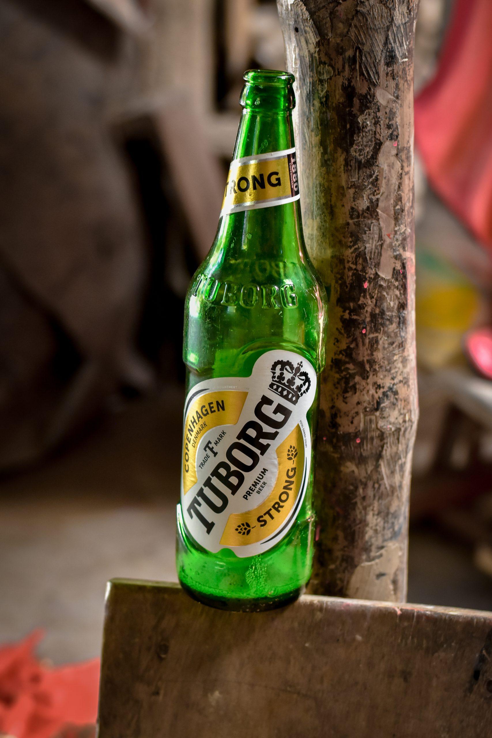 A tuborg bottle image