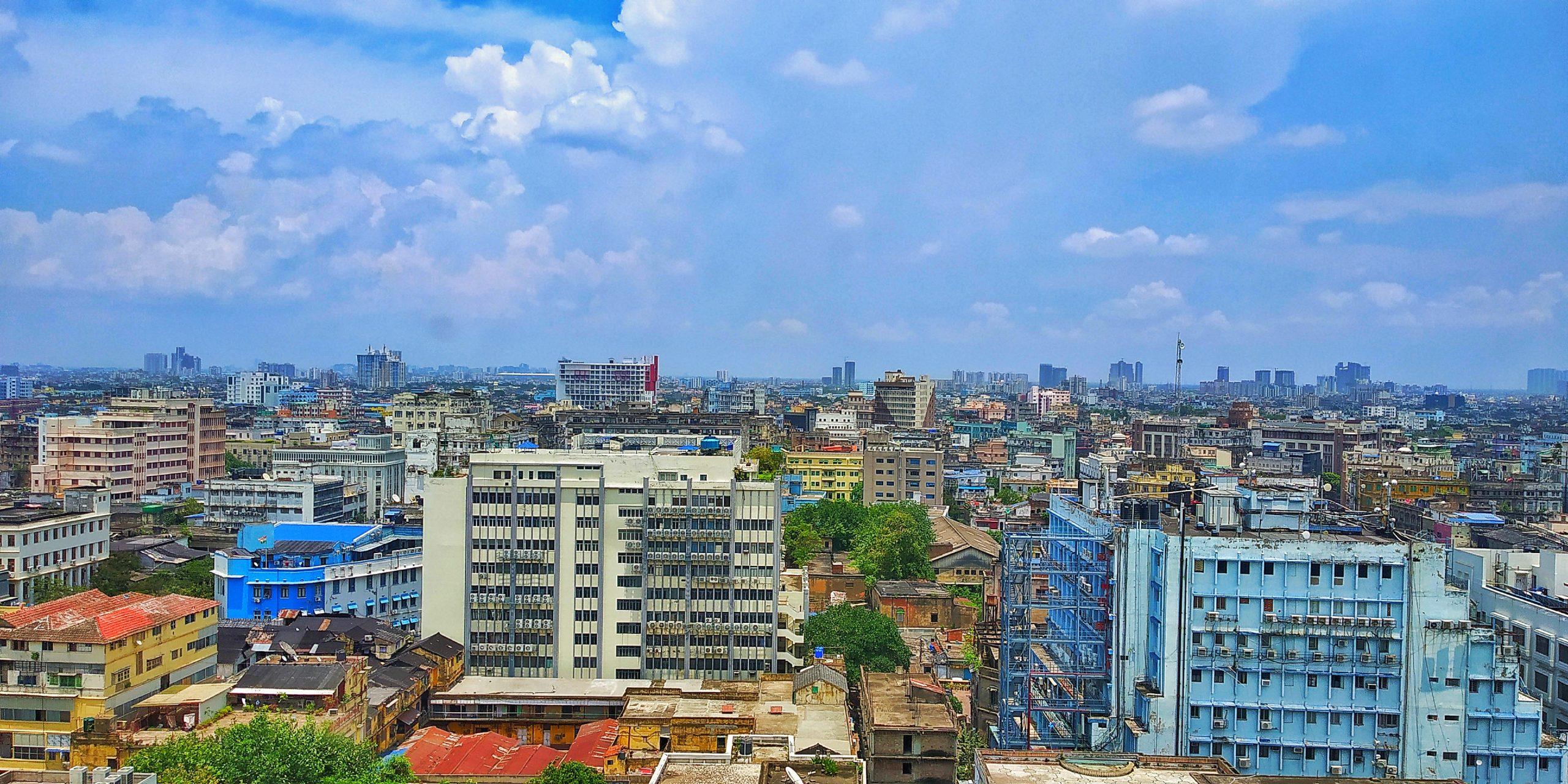 A view of Kolkata city
