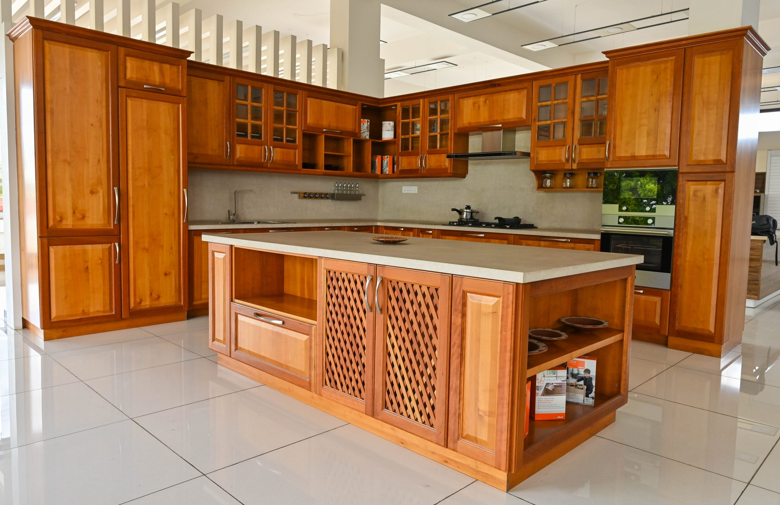 A well furnished kitchen