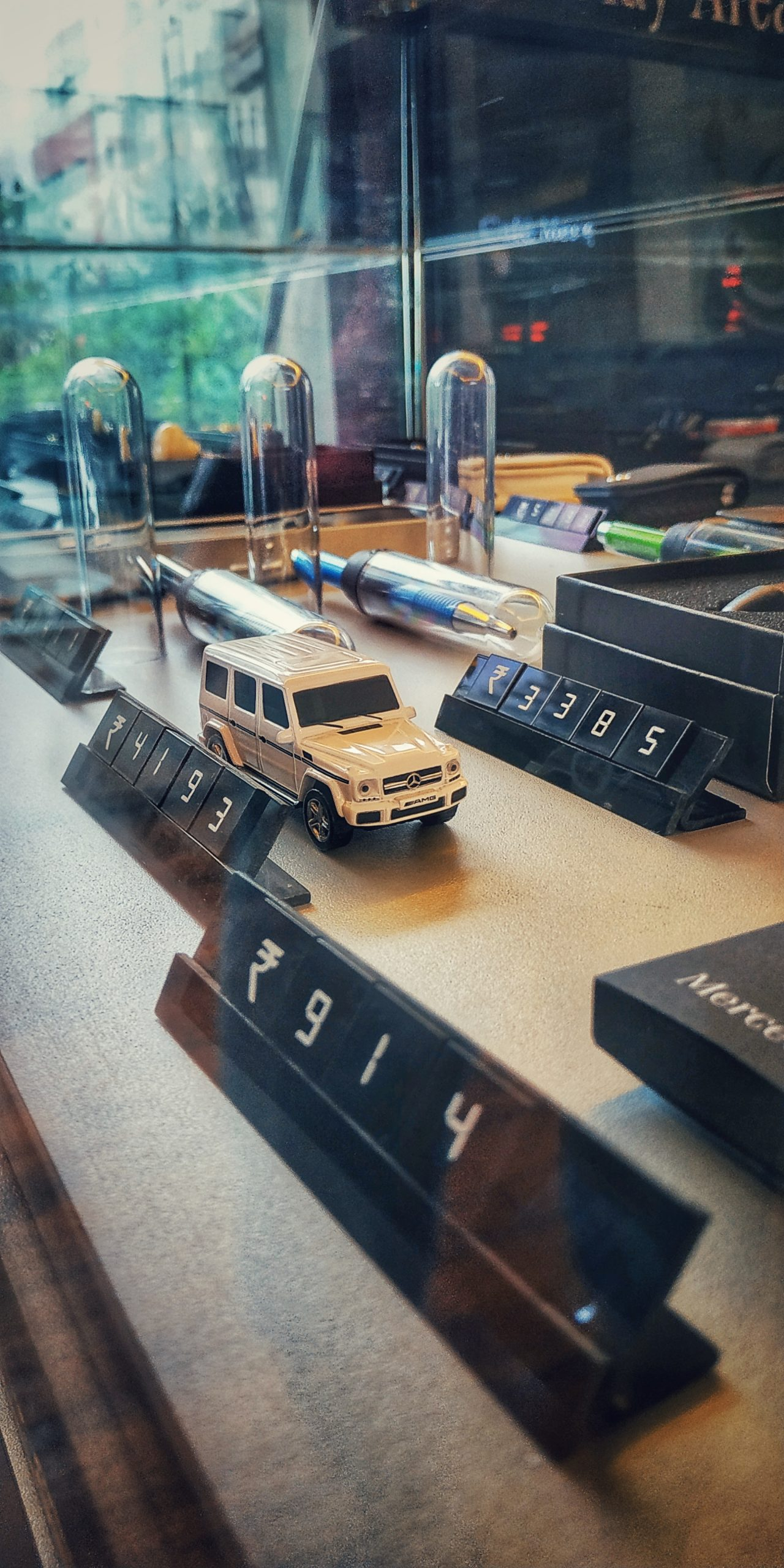 Miniature model of an AMG