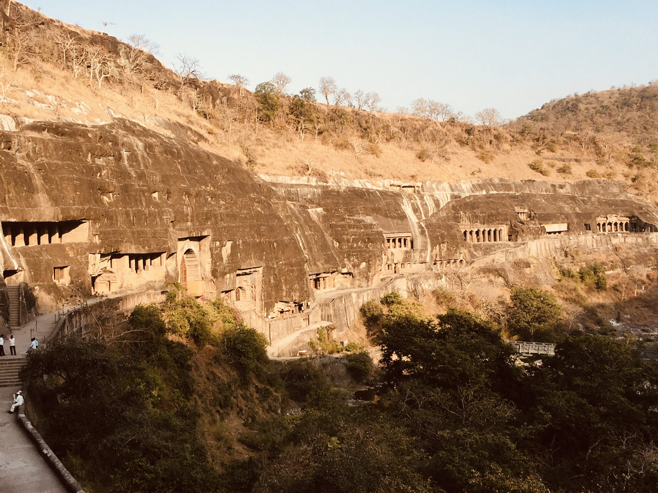 Ajanta caves in Maharashtra
