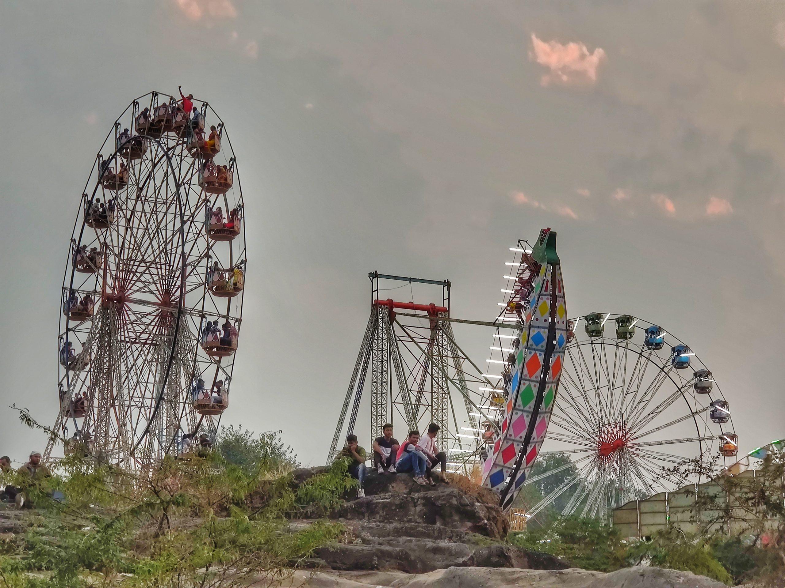 An annual fair in an Indian state