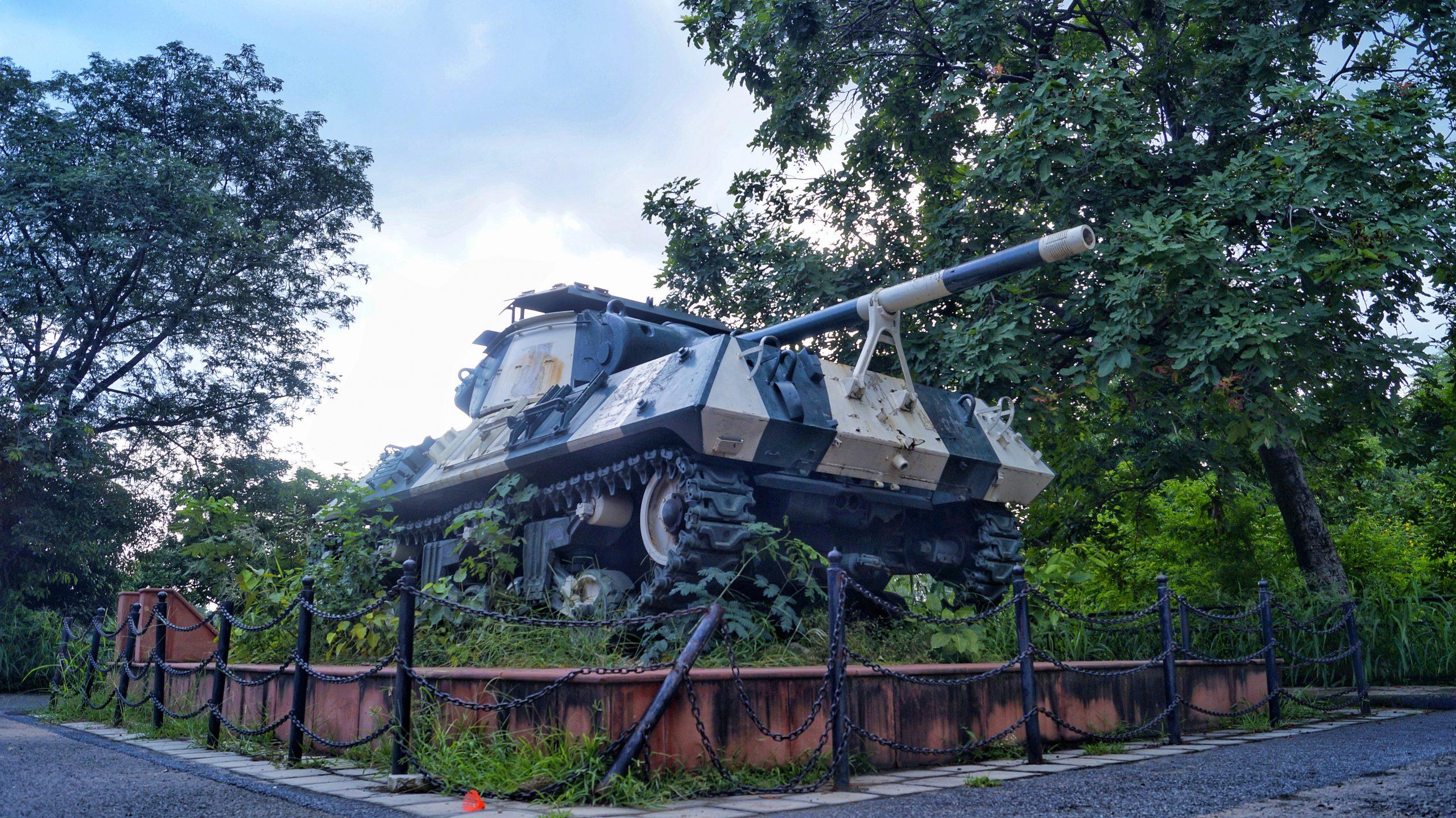 An army tank