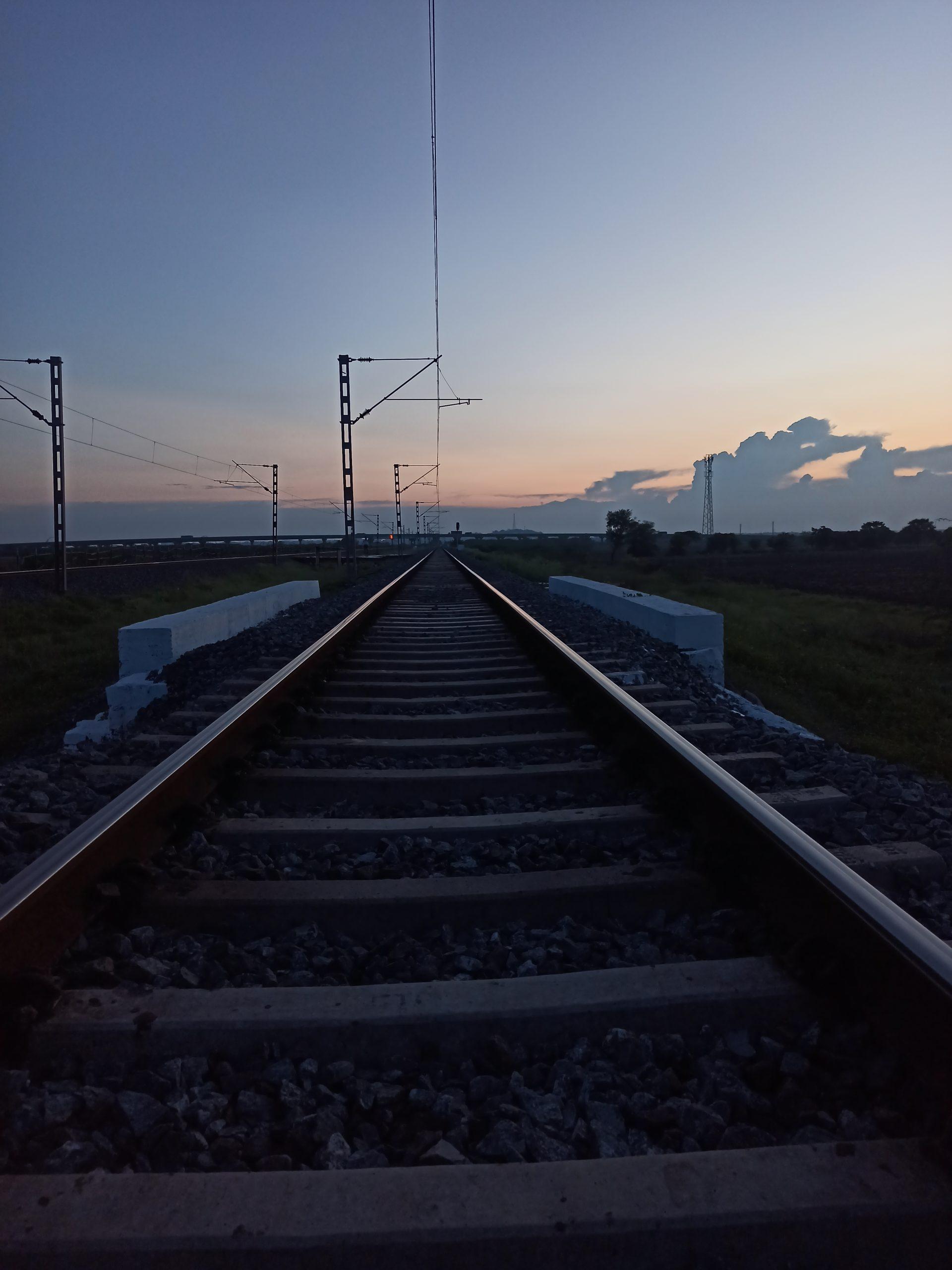 An empty Railway