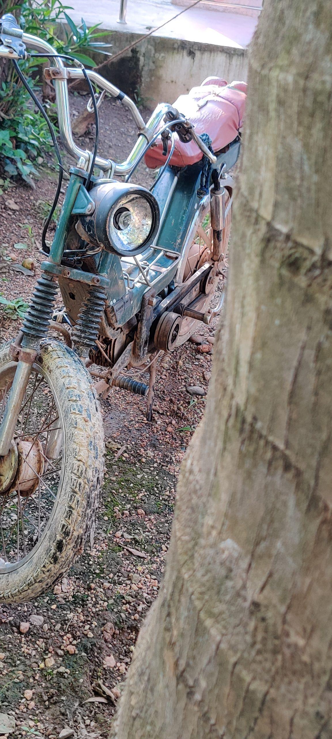 An old mopad bike