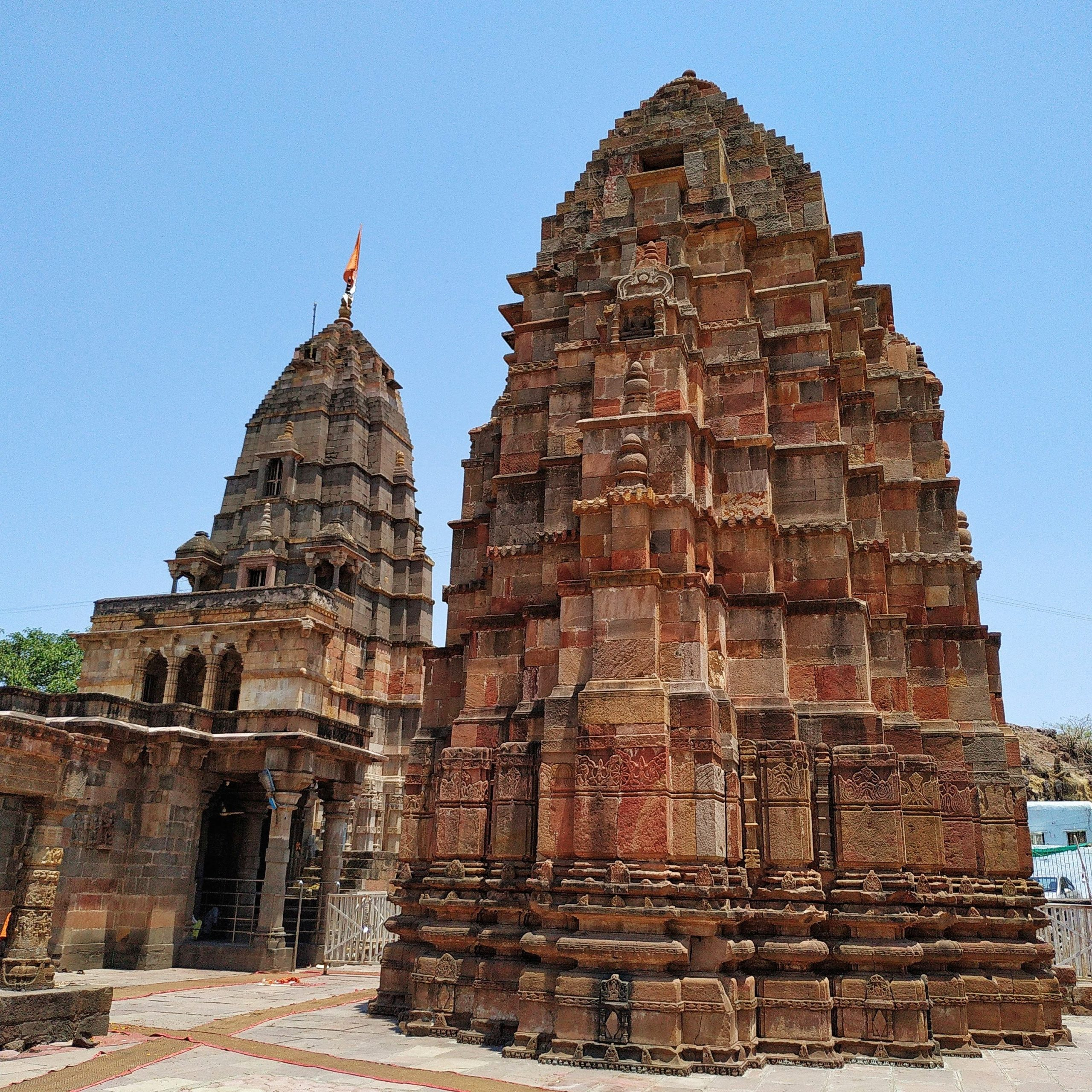 Ancient Temple in Omkareshwar