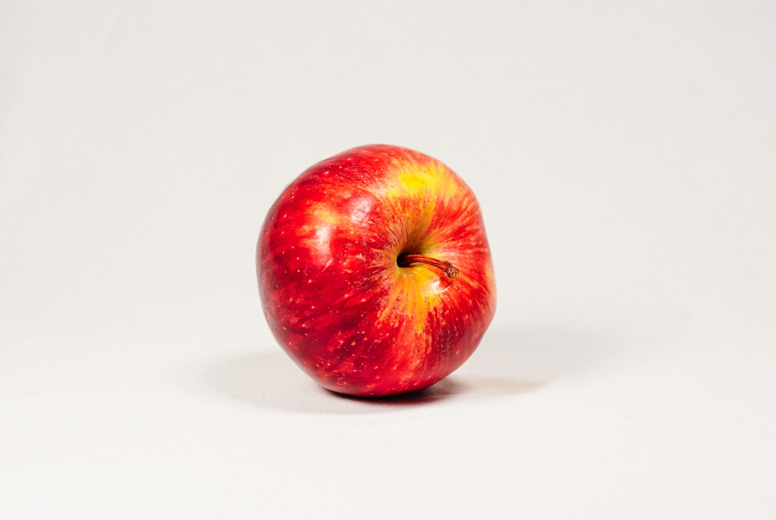 A fresh and juicy apple