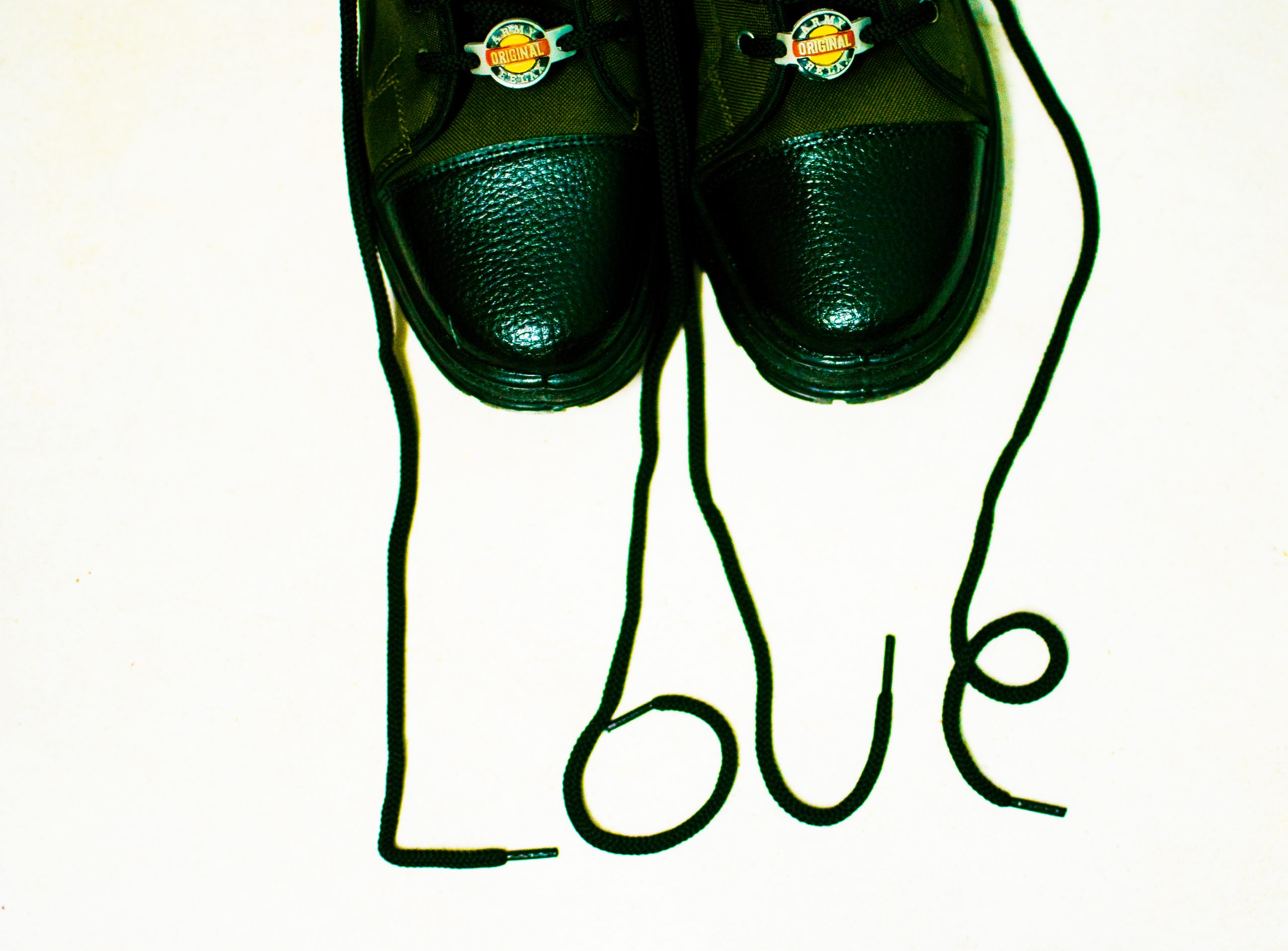 Army Shoes and laces