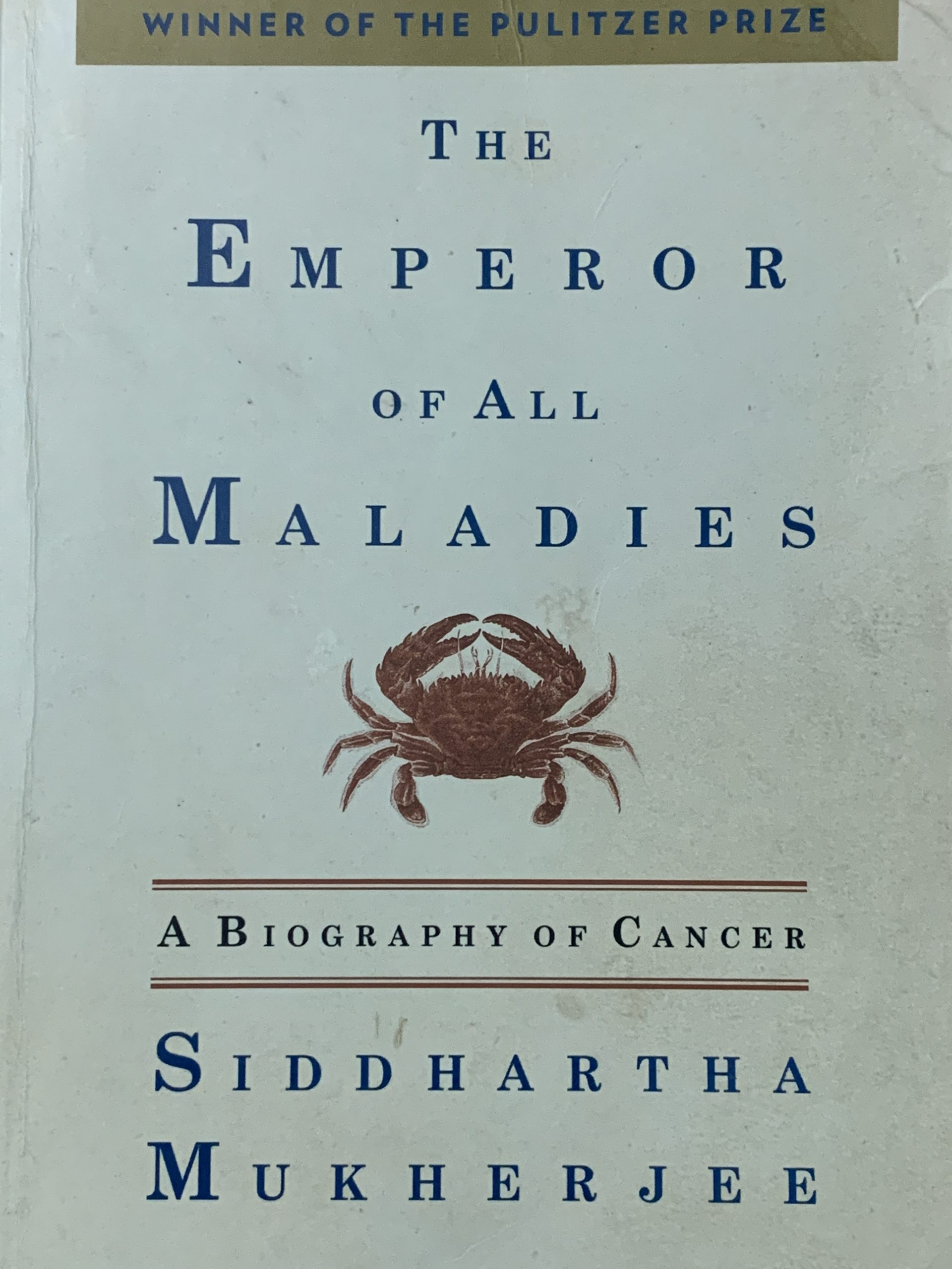 Book A Biography of Cancer
