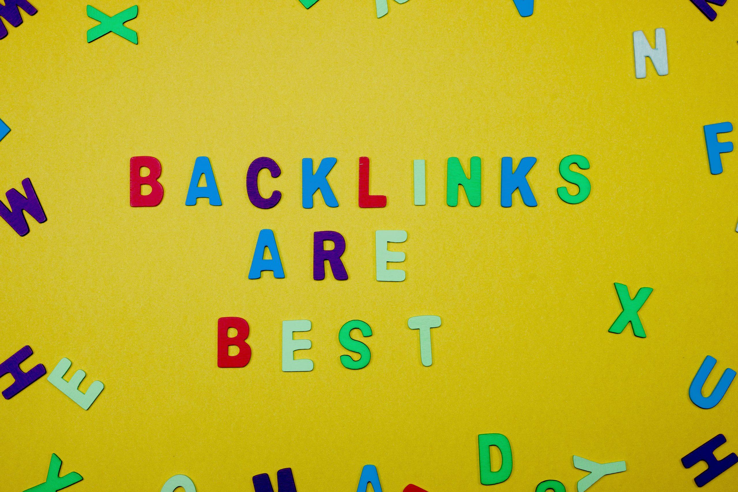 Backlinks Are Best written